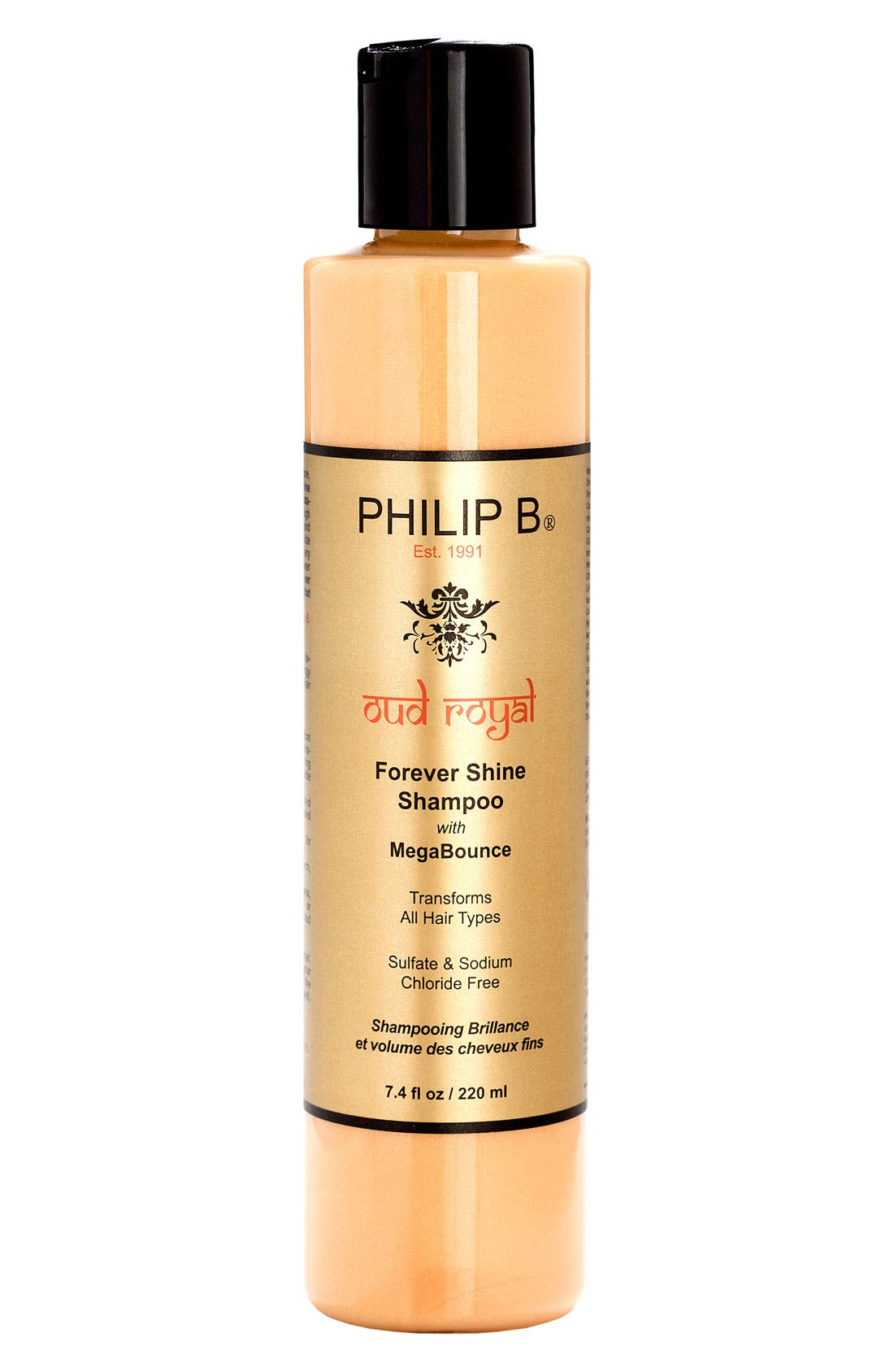 SPACE.NK.apothecary PHILIP B<sup>®</sup> Oud Royal Forever Shine Shampoo,                         Main,                         color, NO COLOR