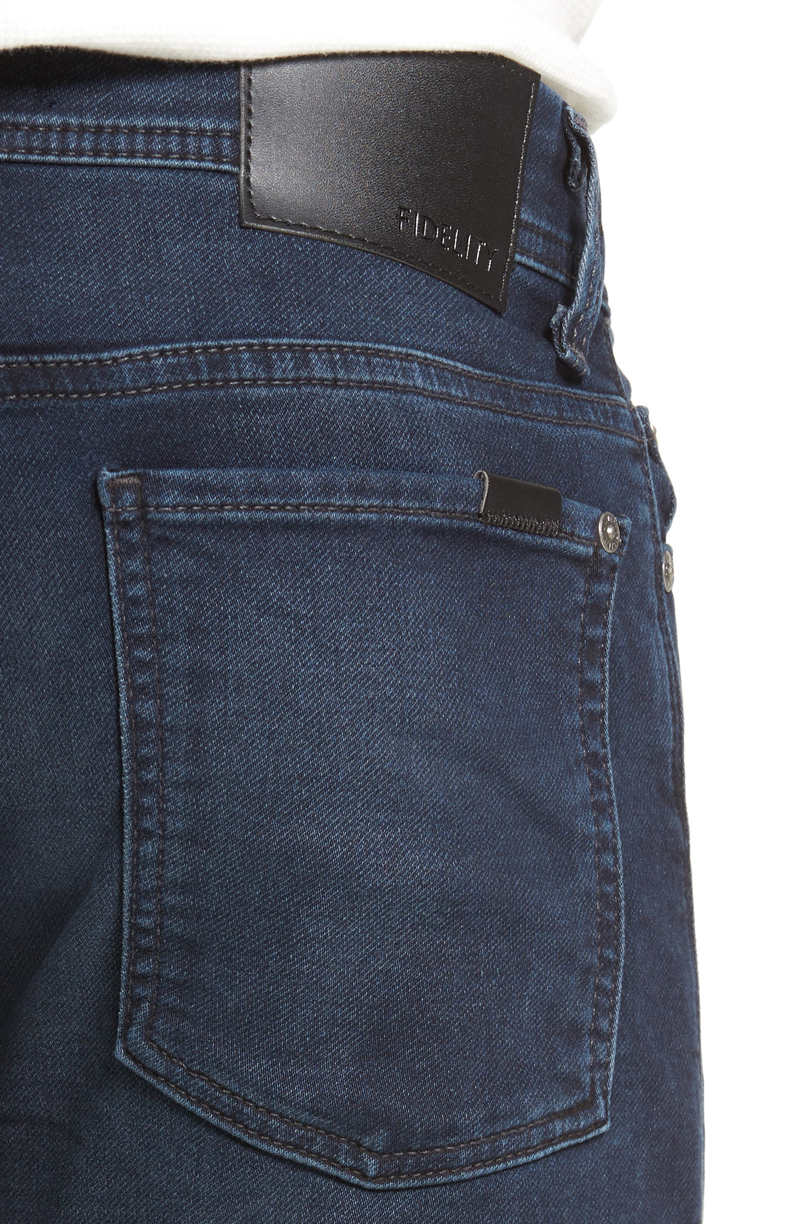 Jimmy Slim Straight Fit Jeans,                             Alternate thumbnail 4, color,                             400