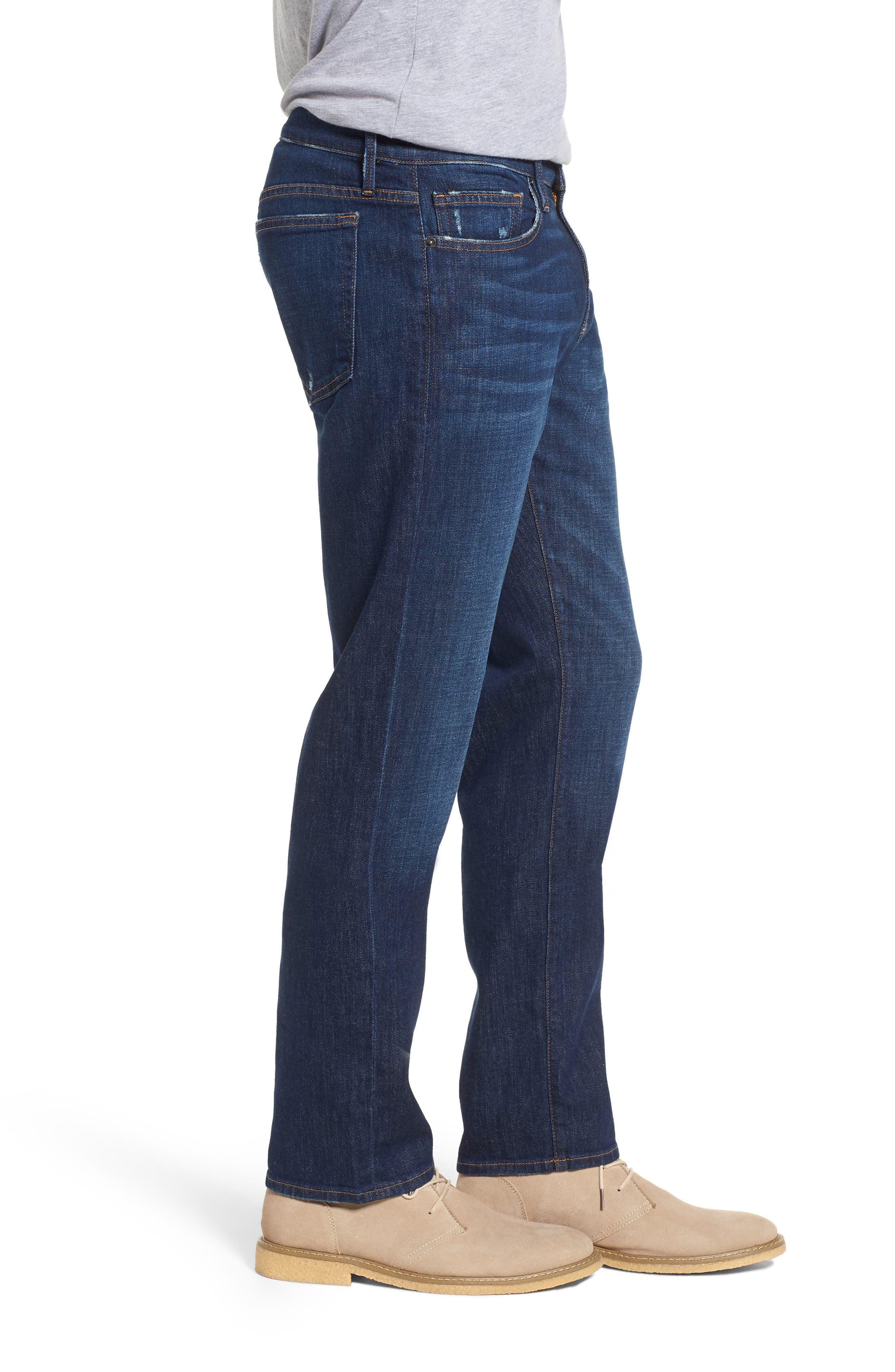 L'Homme Slim Fit Jeans,                             Alternate thumbnail 3, color,                             420
