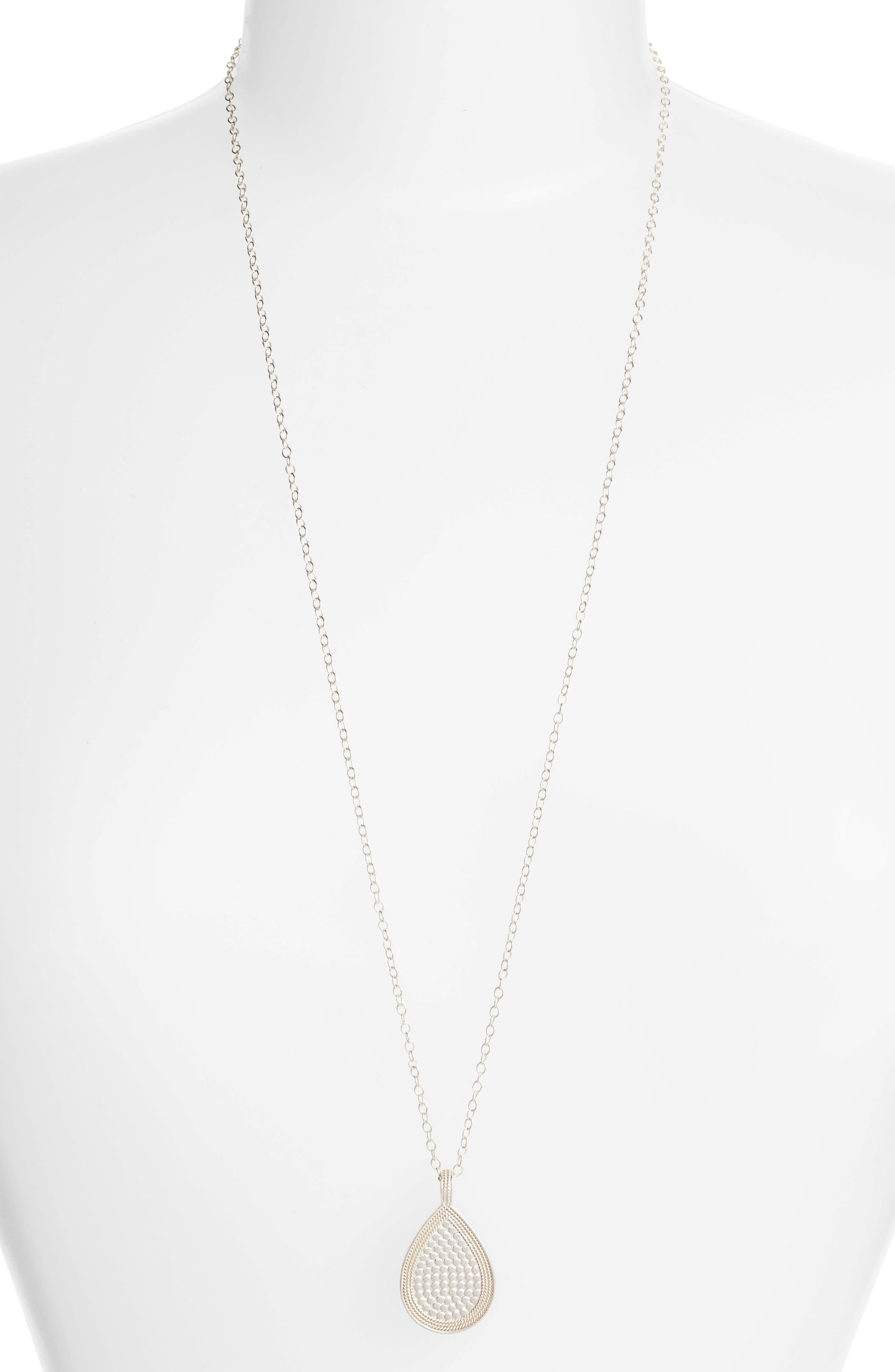 Signature Reversible Long Necklace,                             Alternate thumbnail 4, color,                             GOLD