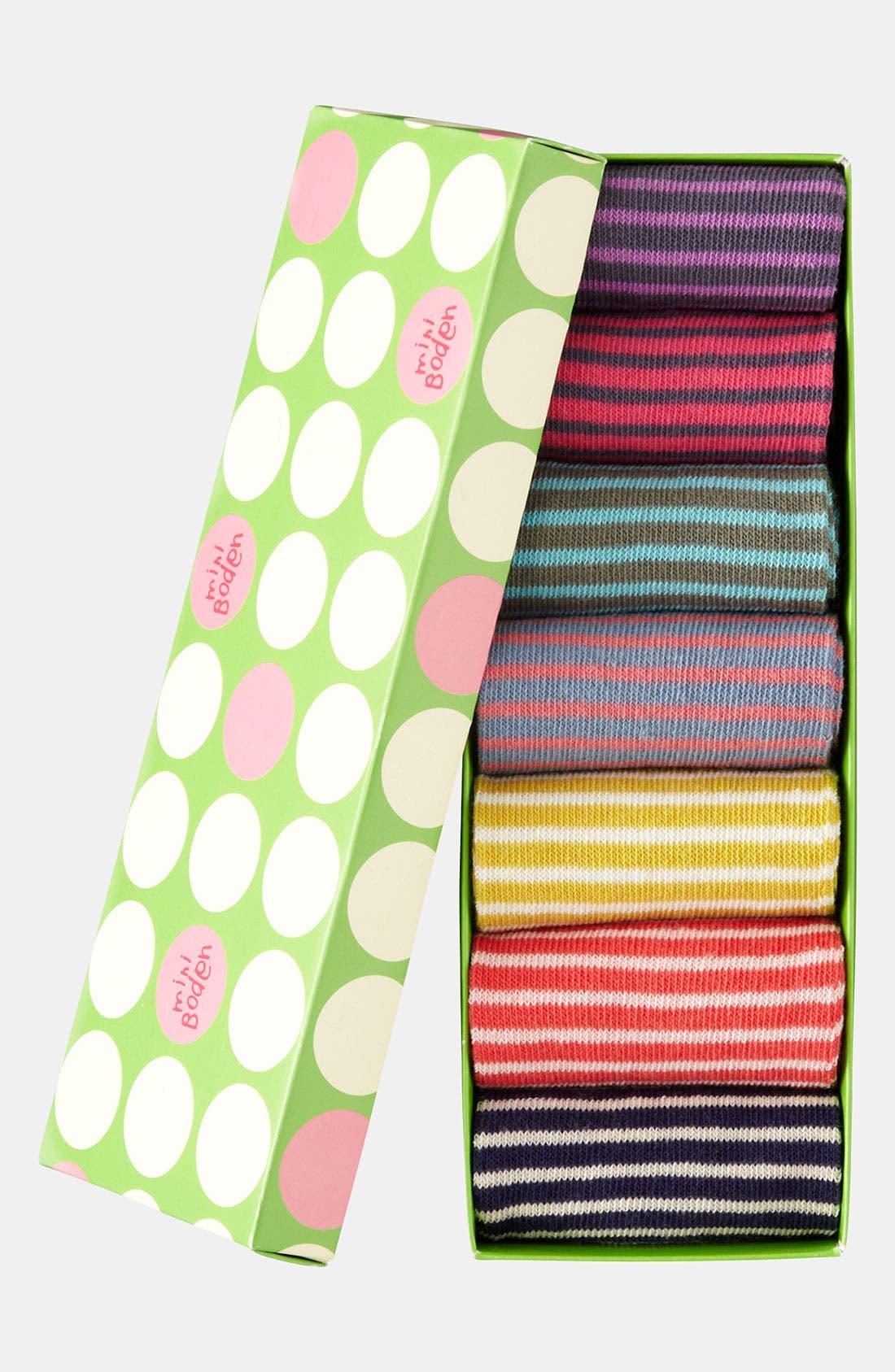 MINI BODEN,                             Socks,                             Alternate thumbnail 3, color,                             982