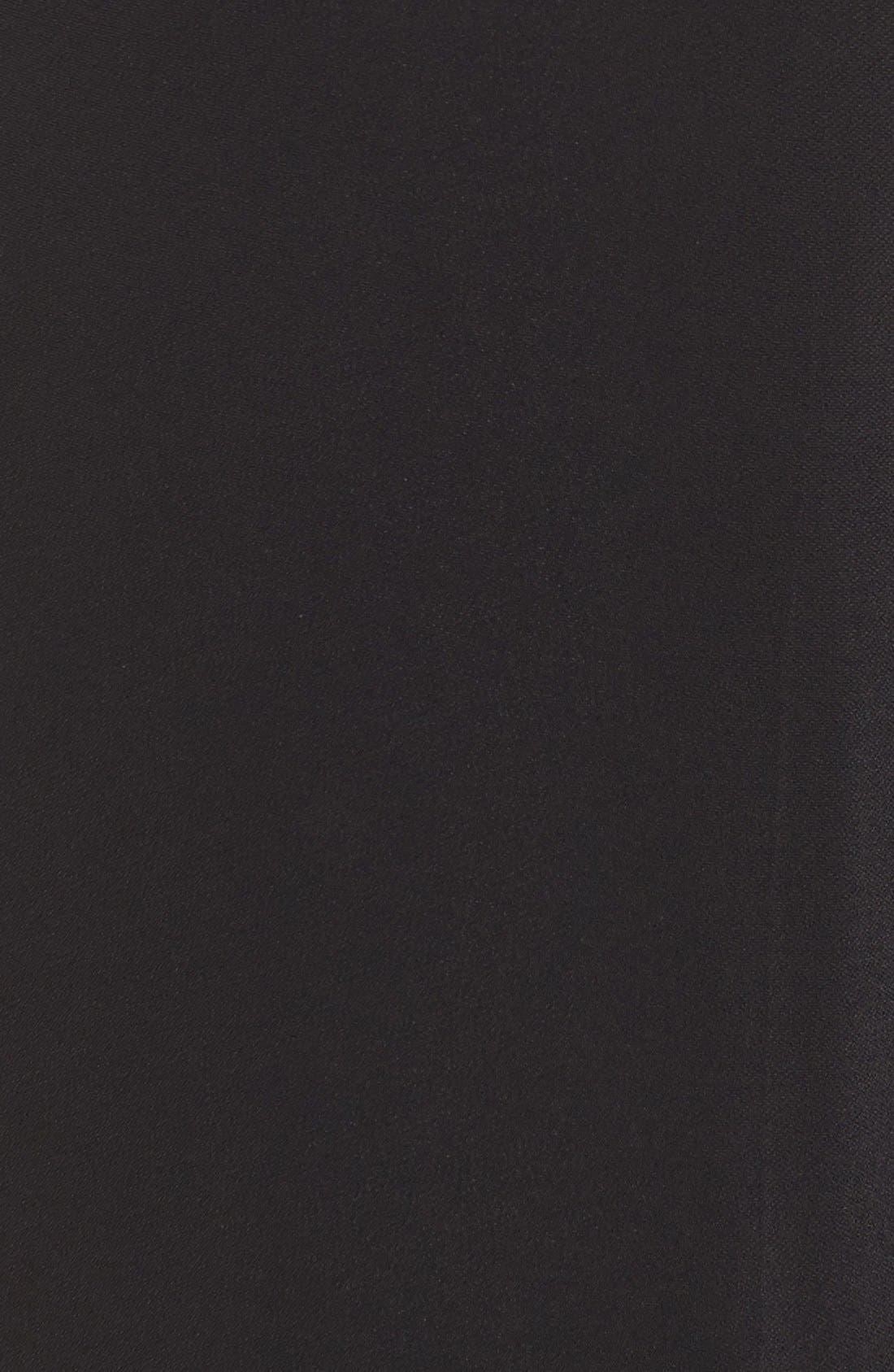 KOBI HALPERIN,                             'Clara' Crop Pants,                             Alternate thumbnail 5, color,                             001