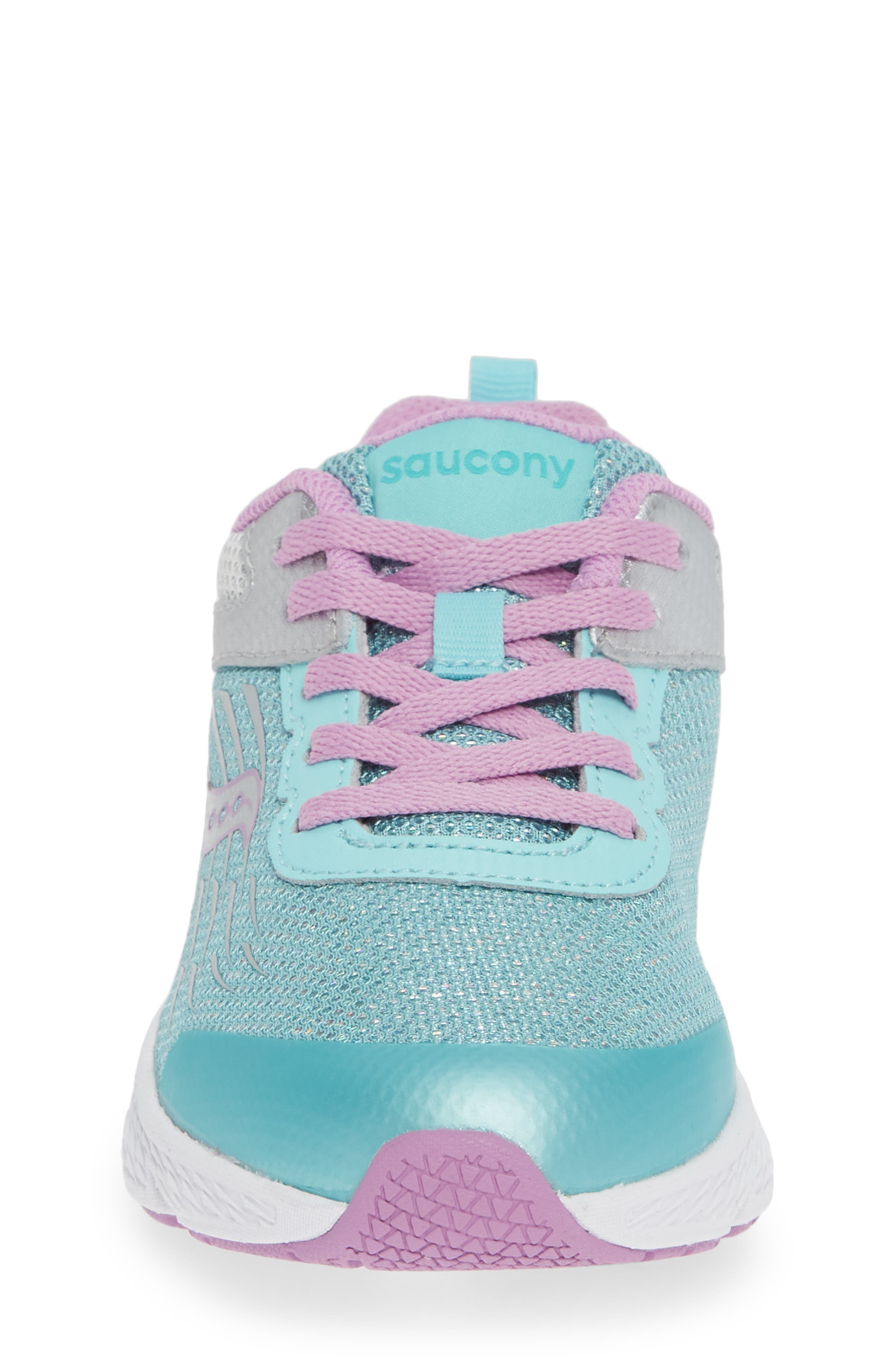 Wind Sneaker,                             Alternate thumbnail 4, color,                             TURQUOISE/ SILVER