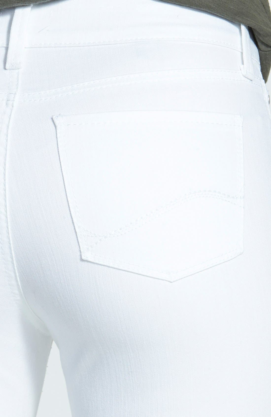 'Billie' Stretch Mini Bootcut Jeans,                             Alternate thumbnail 2, color,                             103