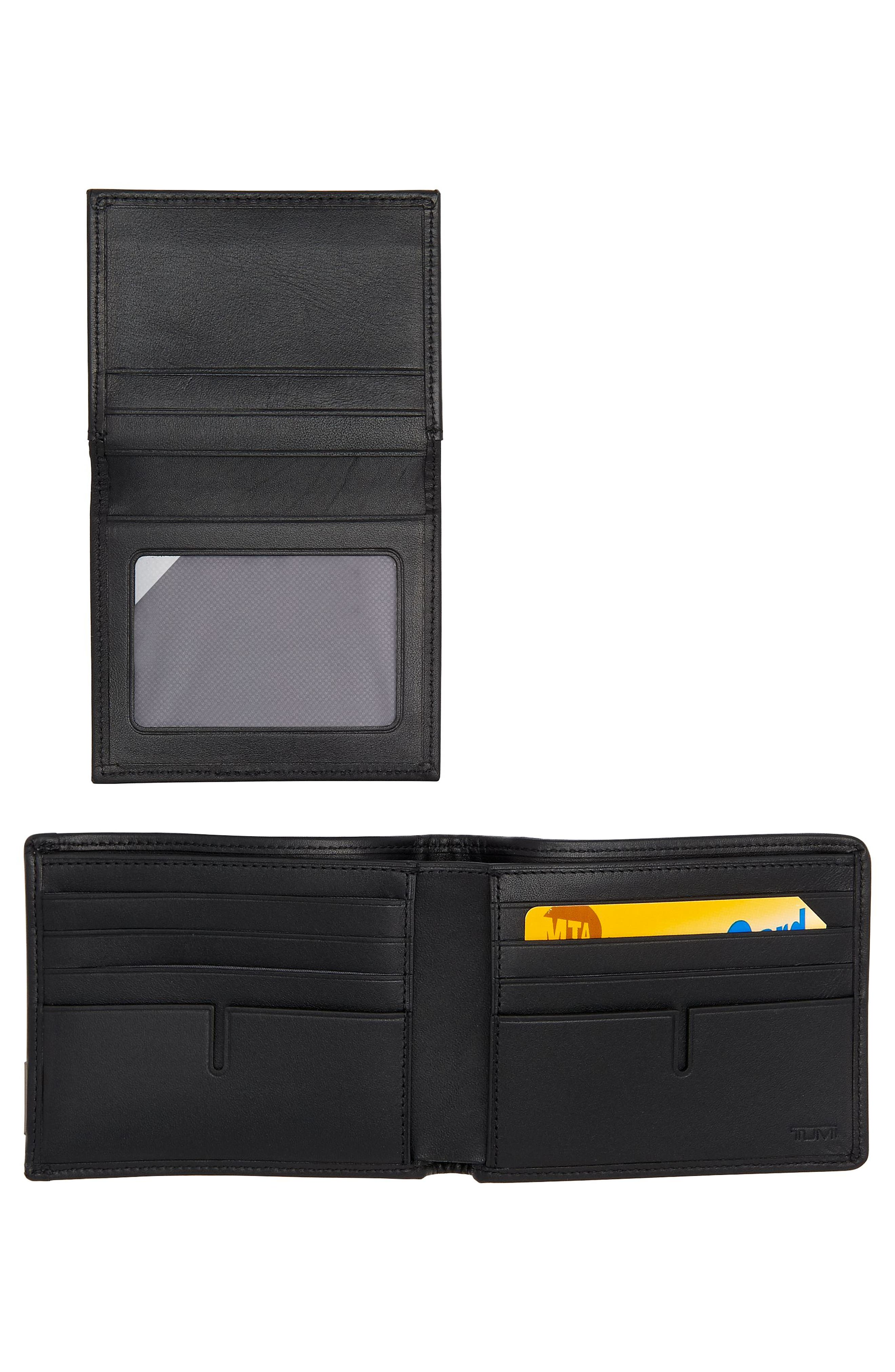 Alpha Global Pass Case Wallet,                             Alternate thumbnail 3, color,                             ANTHRACITE/ BLACK