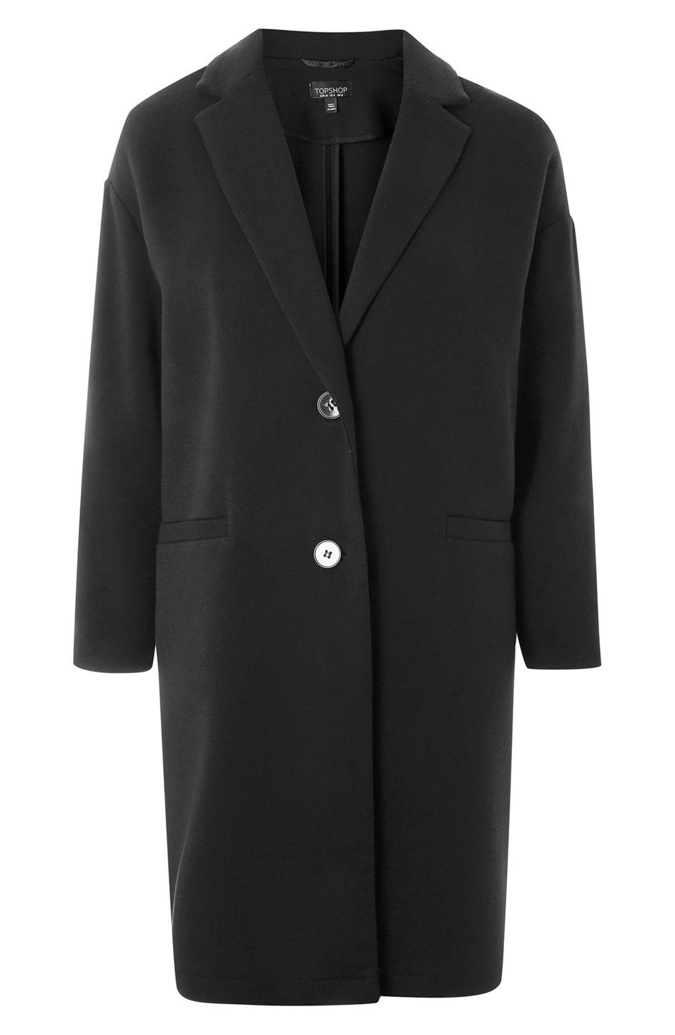 Twill Ponte Topcoat,                             Alternate thumbnail 7, color,