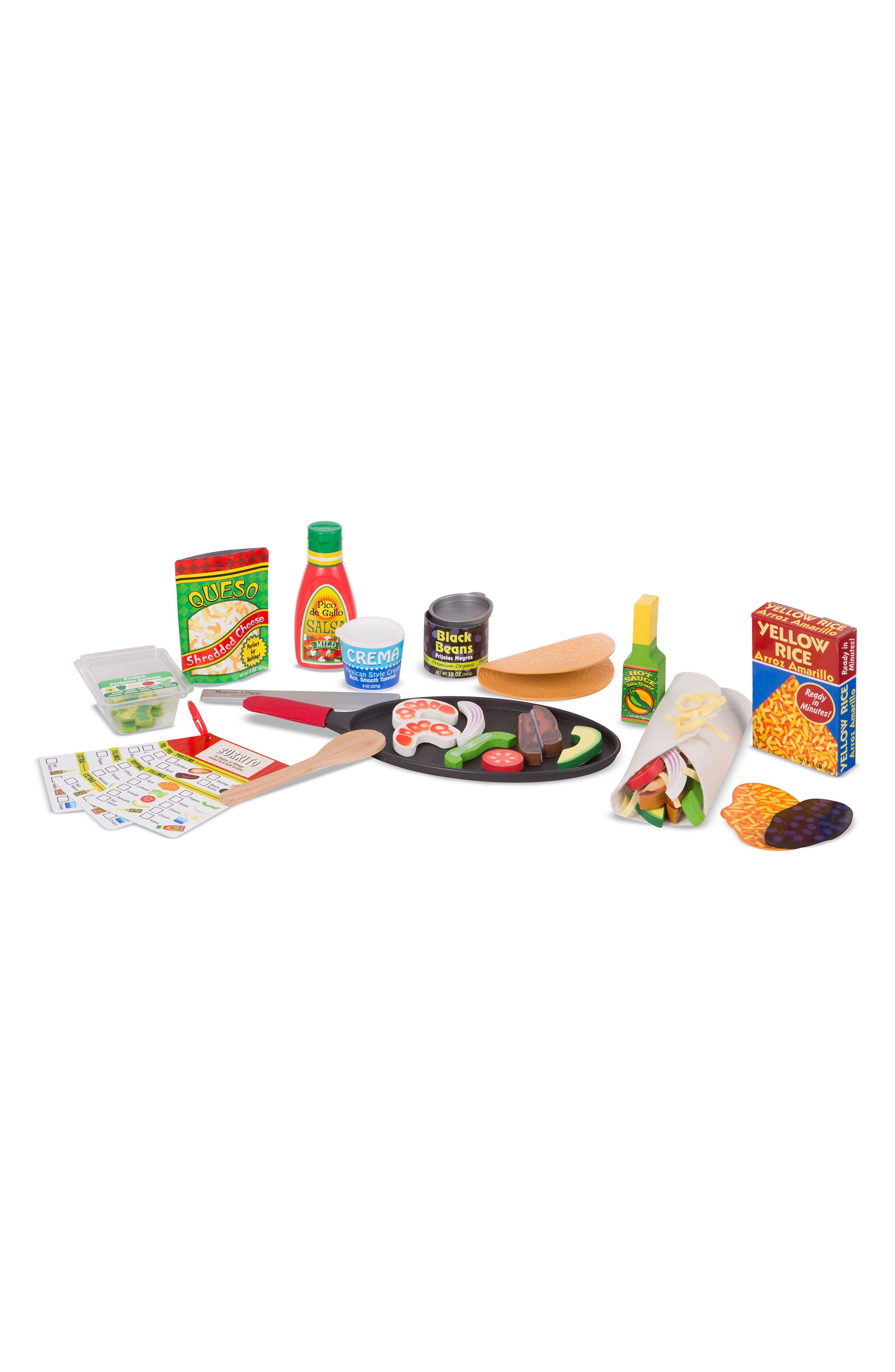 MELISSA & DOUG,                             Fill & Fold Taco & Tortilla Set,                             Alternate thumbnail 5, color,                             960