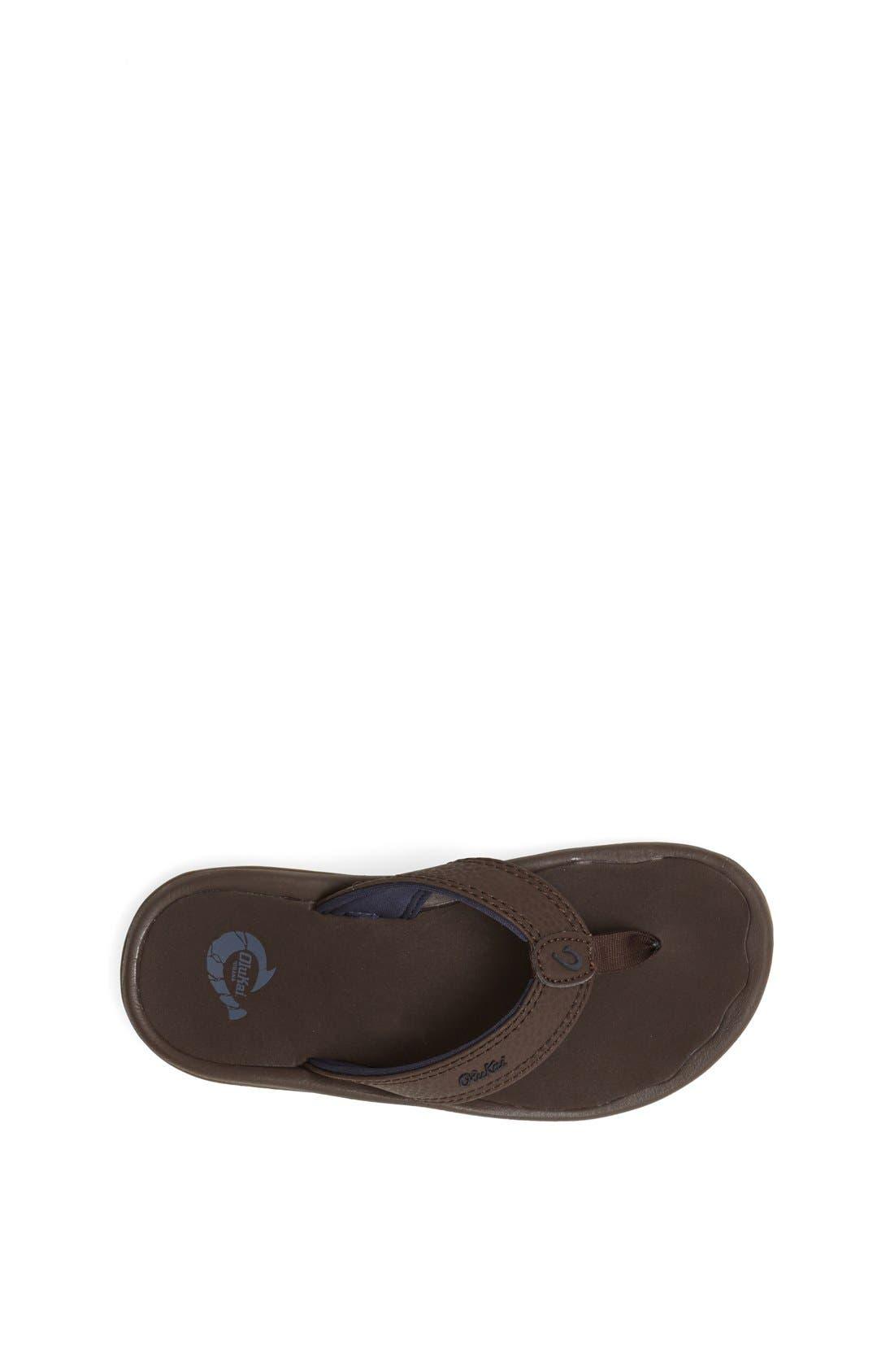 Boys Olukai Ohana Sandal Size 23 M  Brown