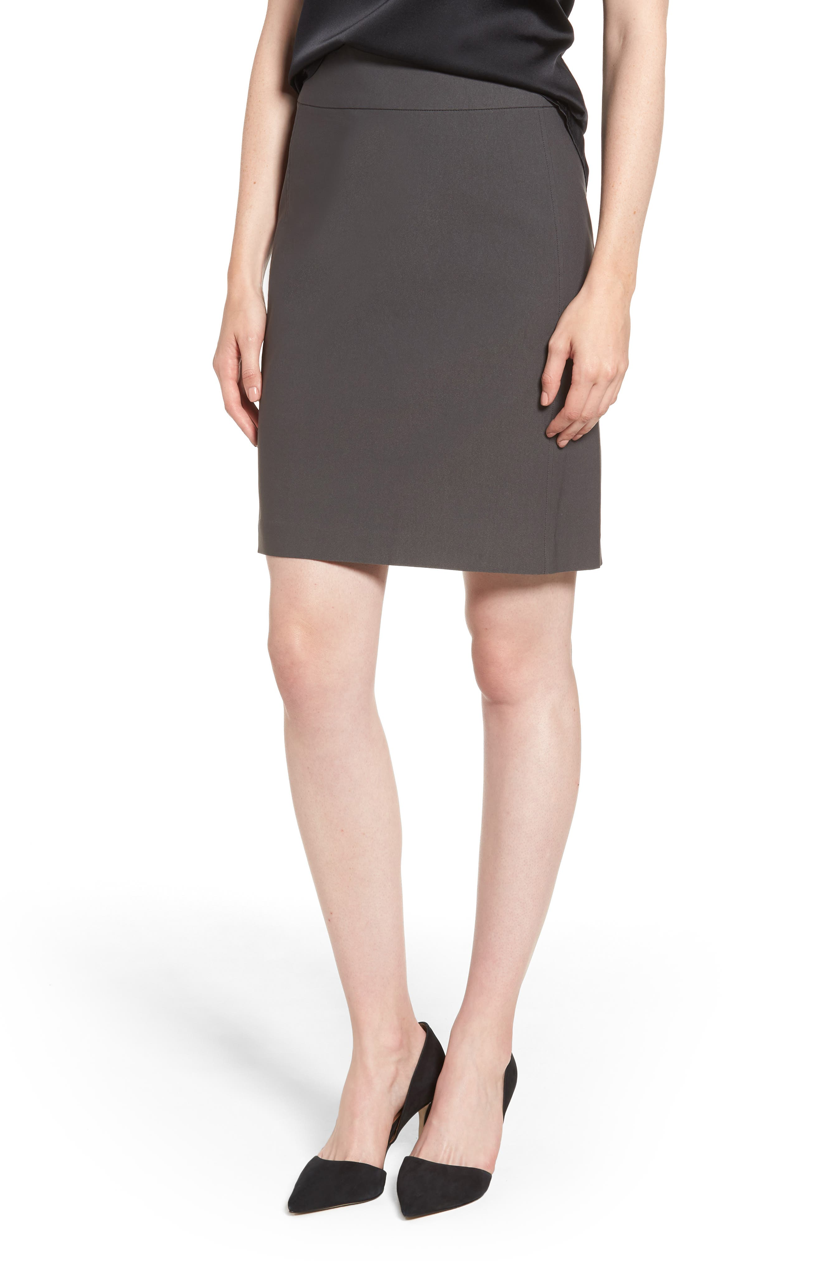 Wonderstretch Skirt,                             Main thumbnail 1, color,                             GRAPHITE