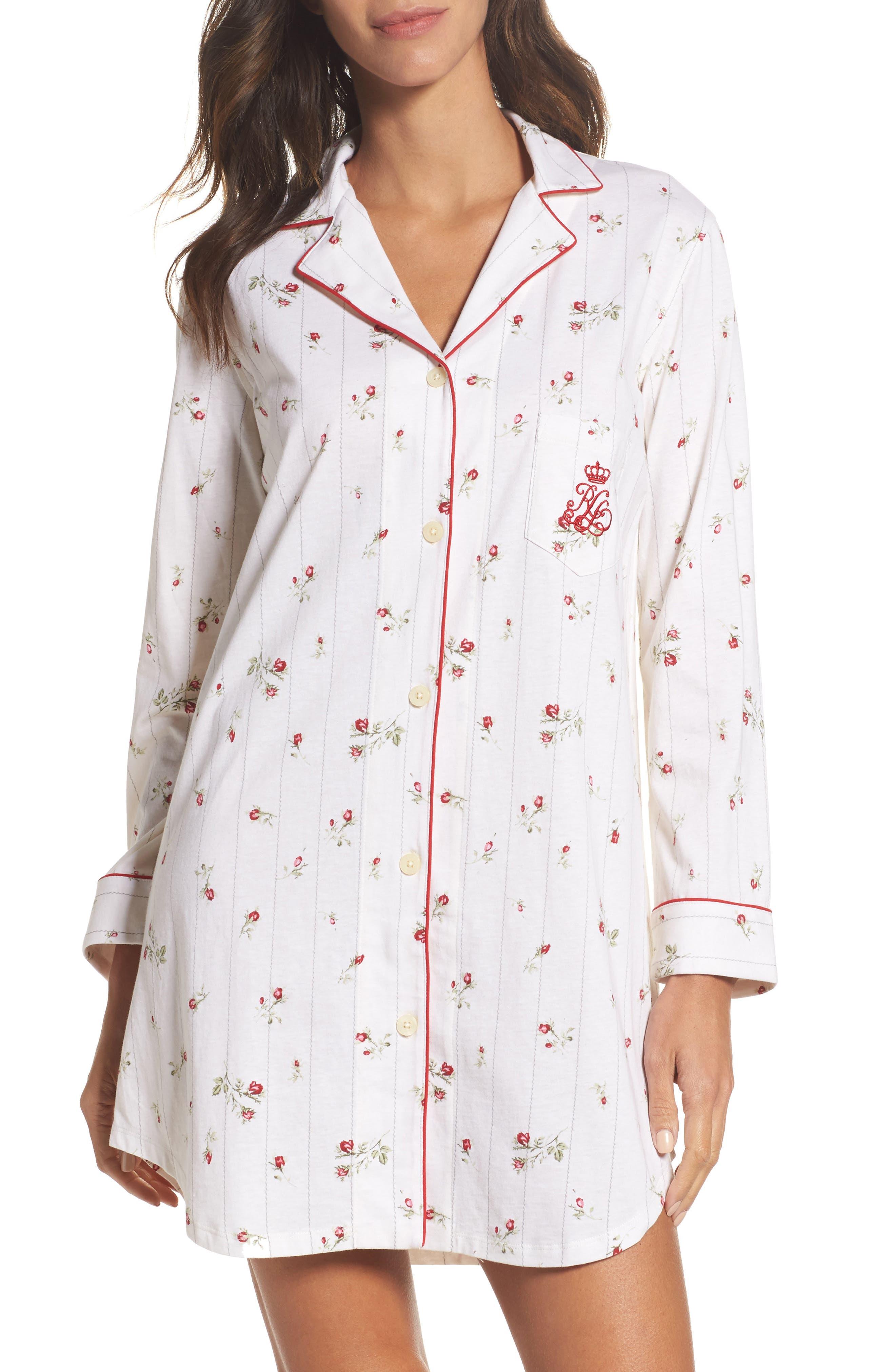 Sleep Shirt,                             Main thumbnail 1, color,                             903
