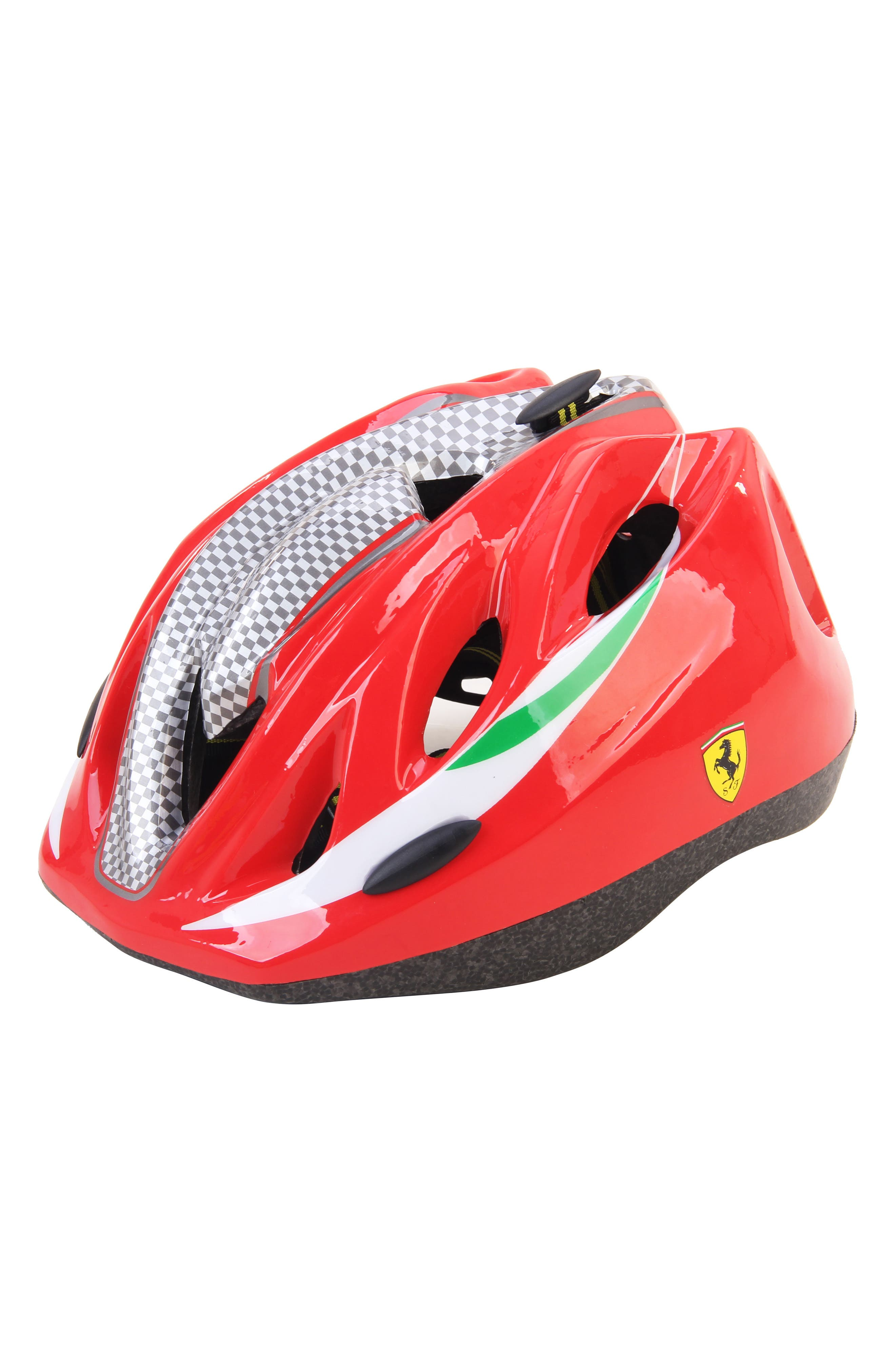 Kid's Helmet,                             Main thumbnail 1, color,                             RED