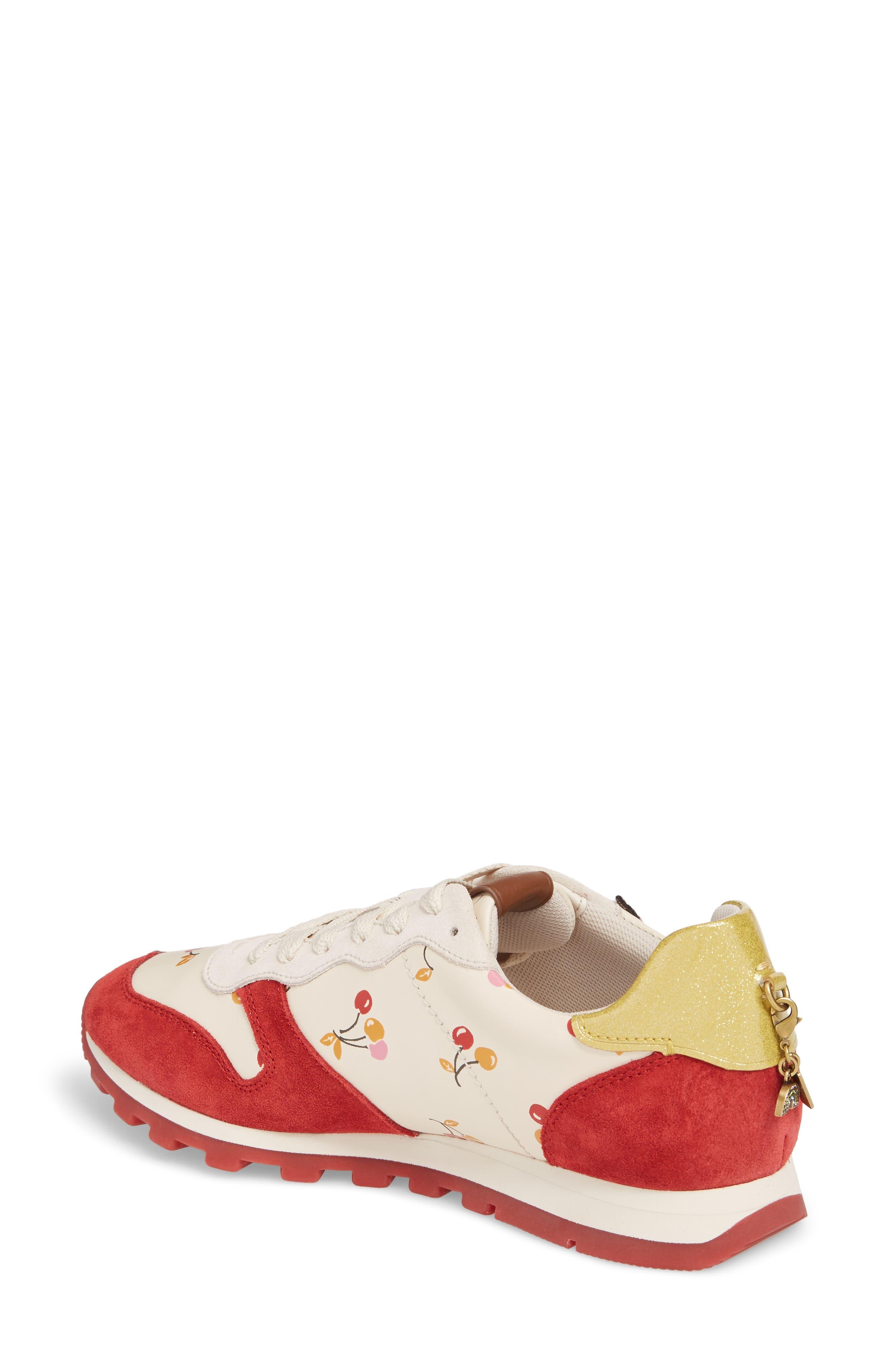Patch Runner Sneaker,                             Alternate thumbnail 2, color,                             100