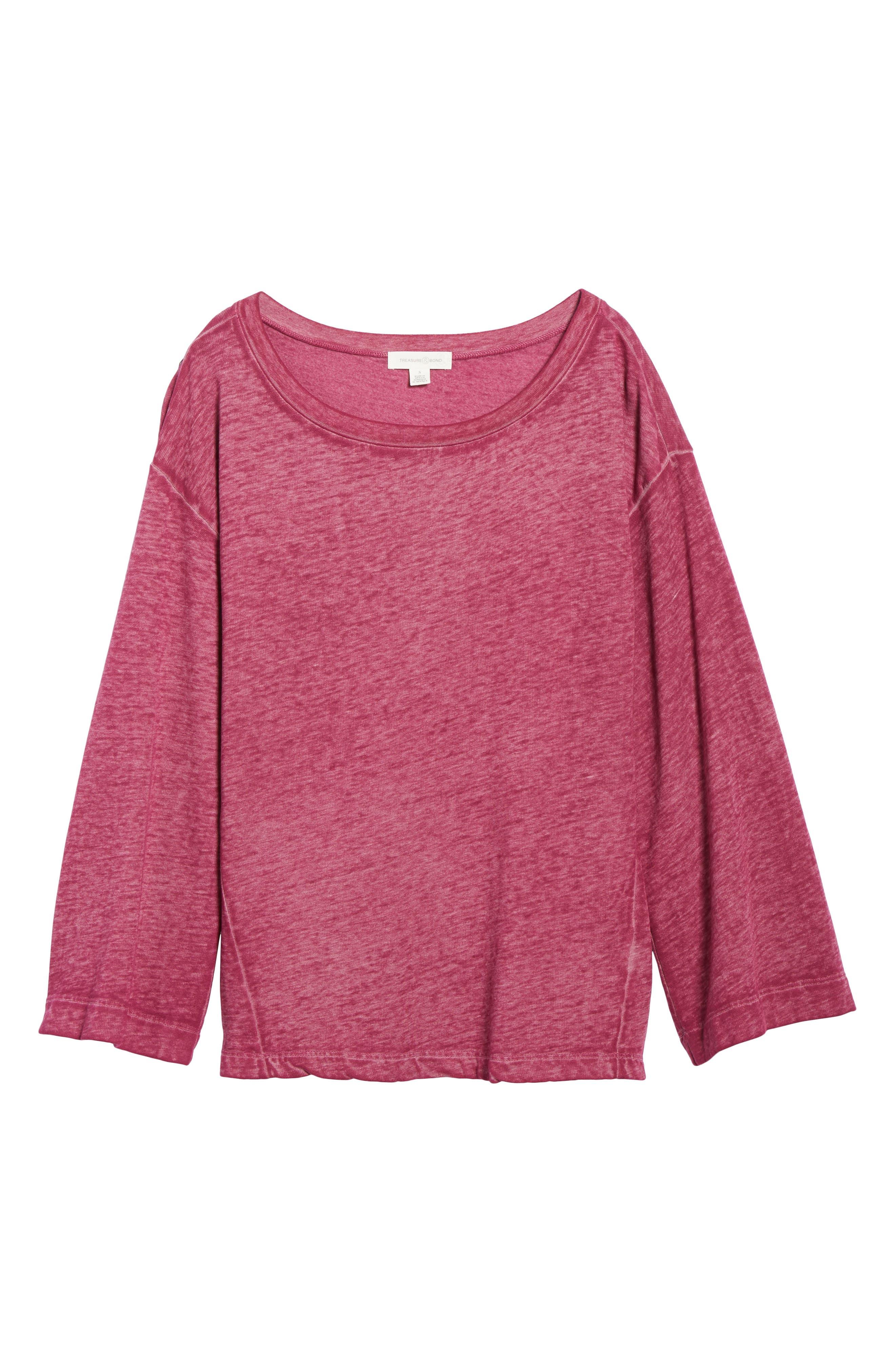 Bell Sleeve Sweatshirt,                             Alternate thumbnail 29, color,