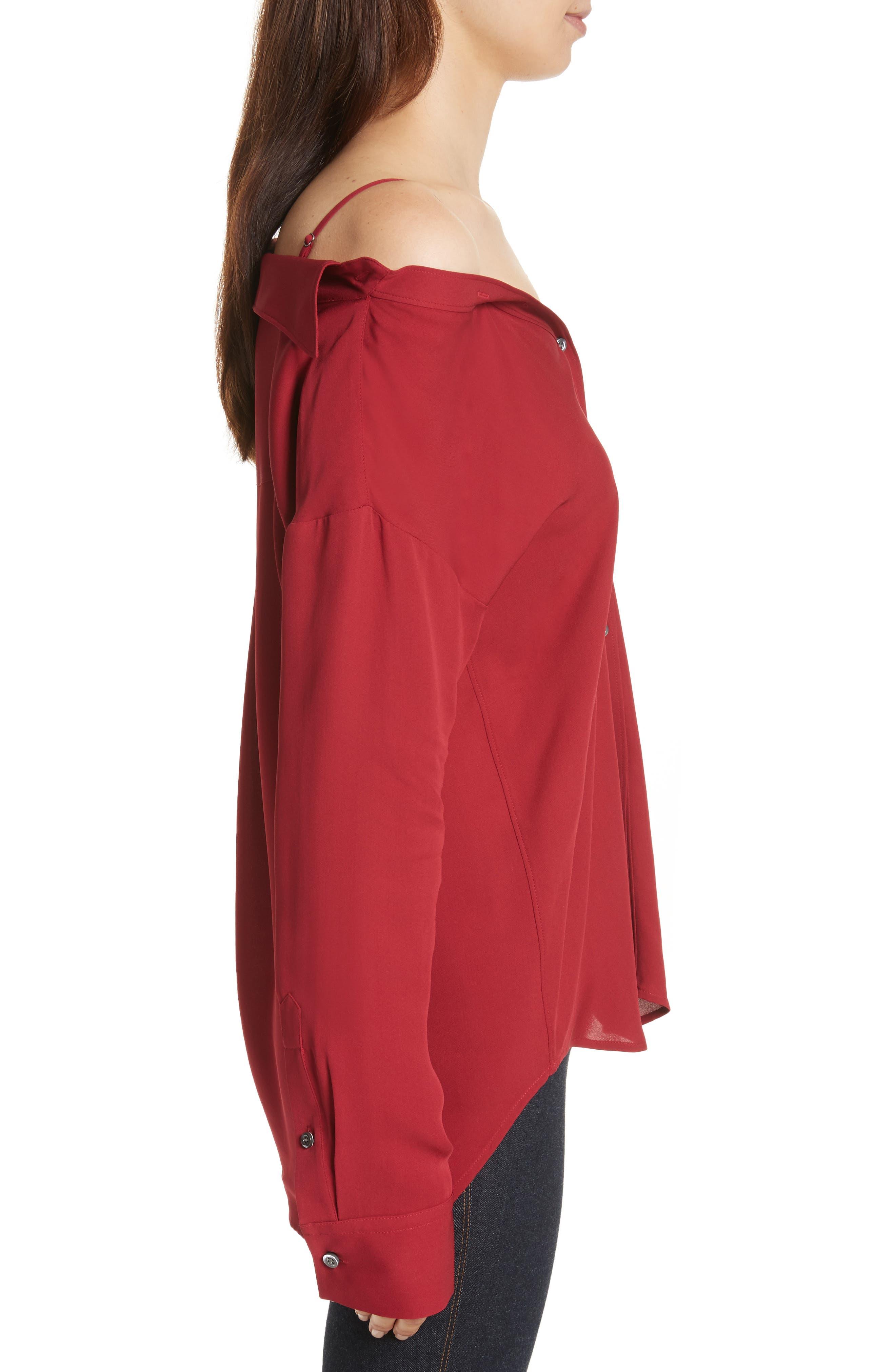 Tamalee Silk Shirt,                             Alternate thumbnail 10, color,