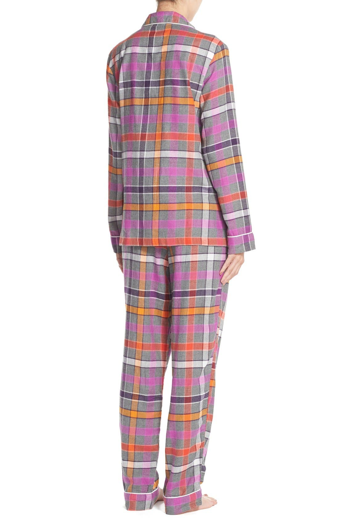 Flannel Pajamas,                             Alternate thumbnail 5, color,                             060
