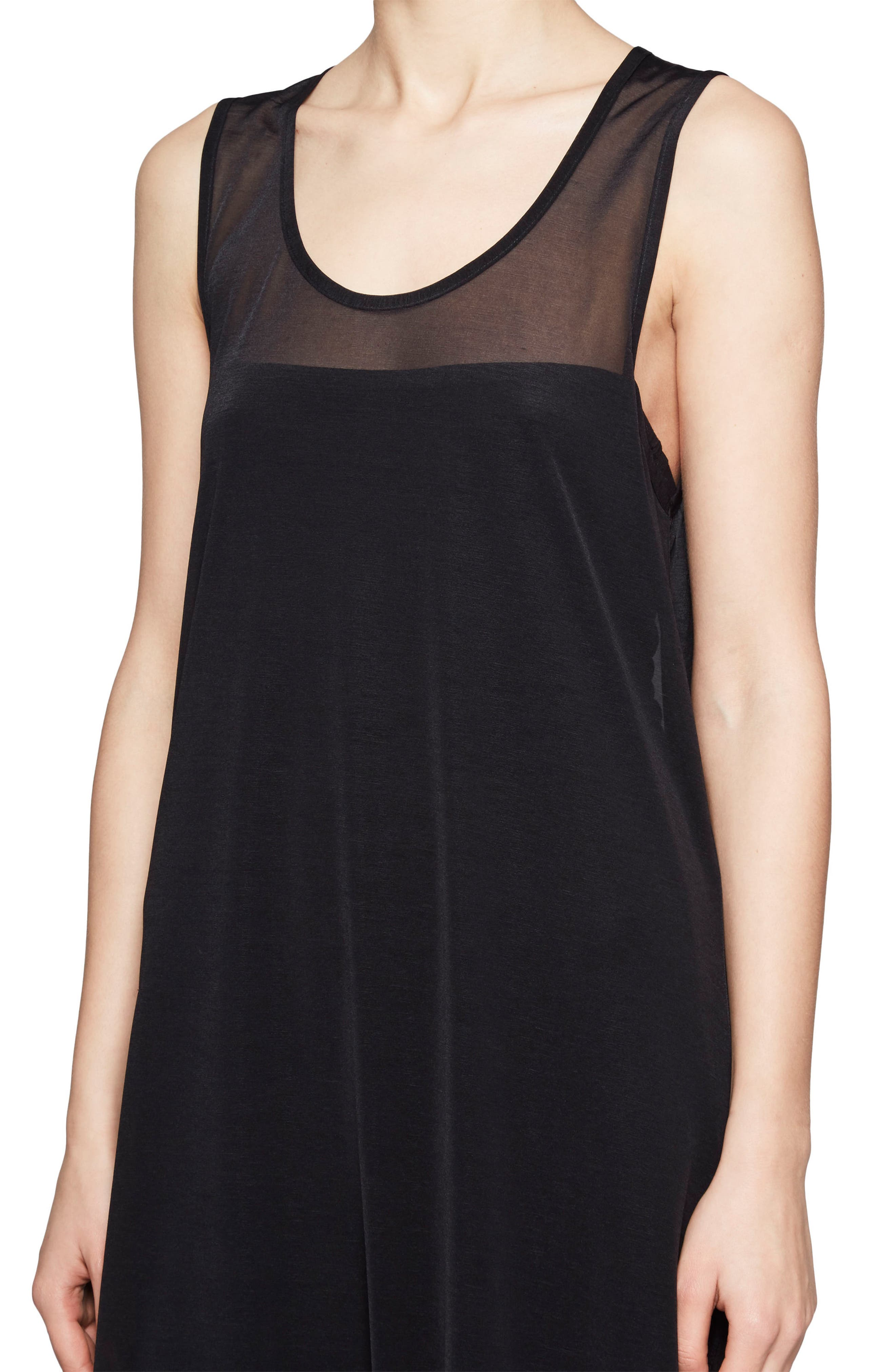 Celia Jersey Midi Dress,                             Alternate thumbnail 3, color,                             001