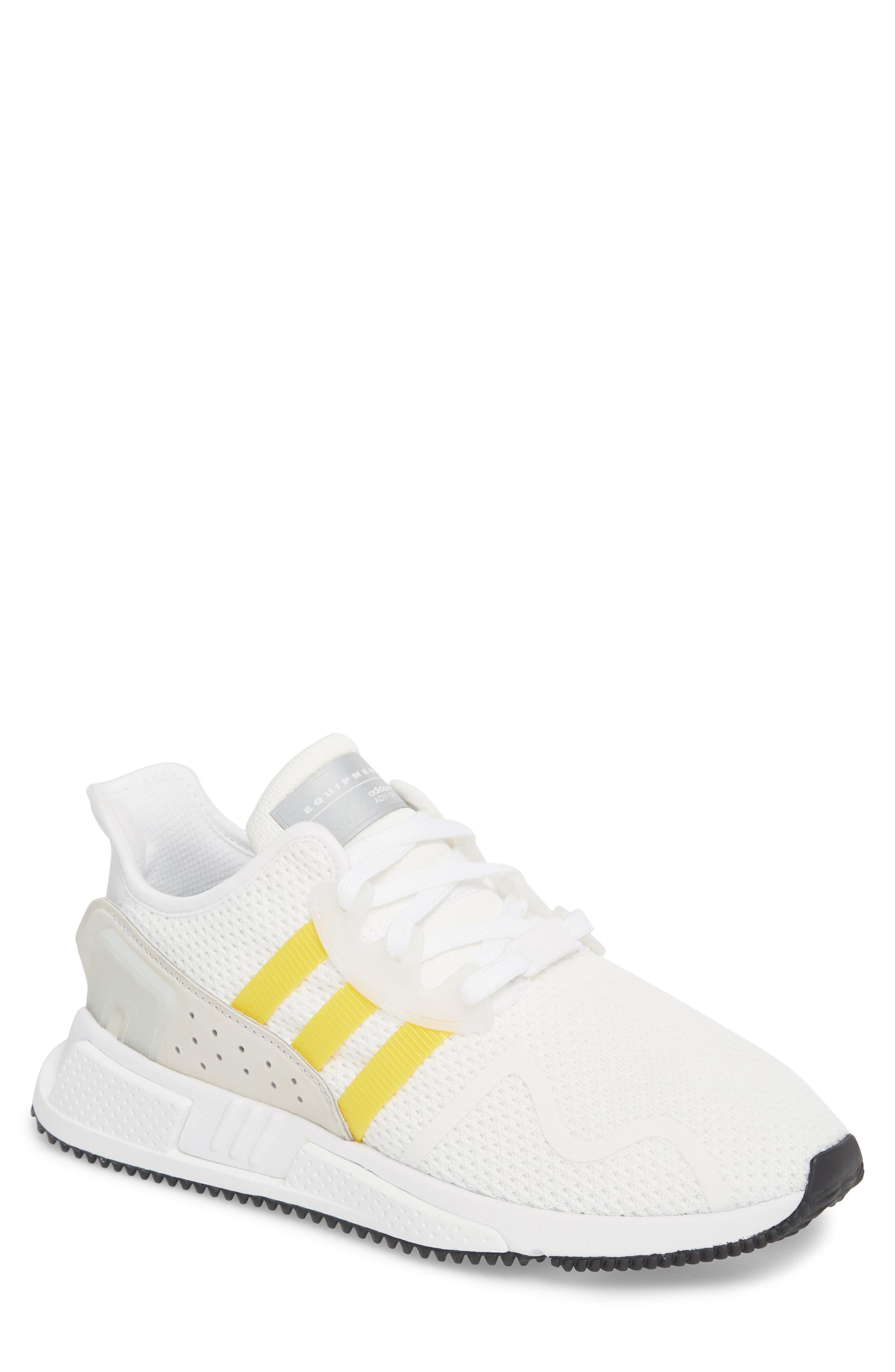 EQT Cushion ADV Sneaker,                         Main,                         color, WHITE/ SILVER