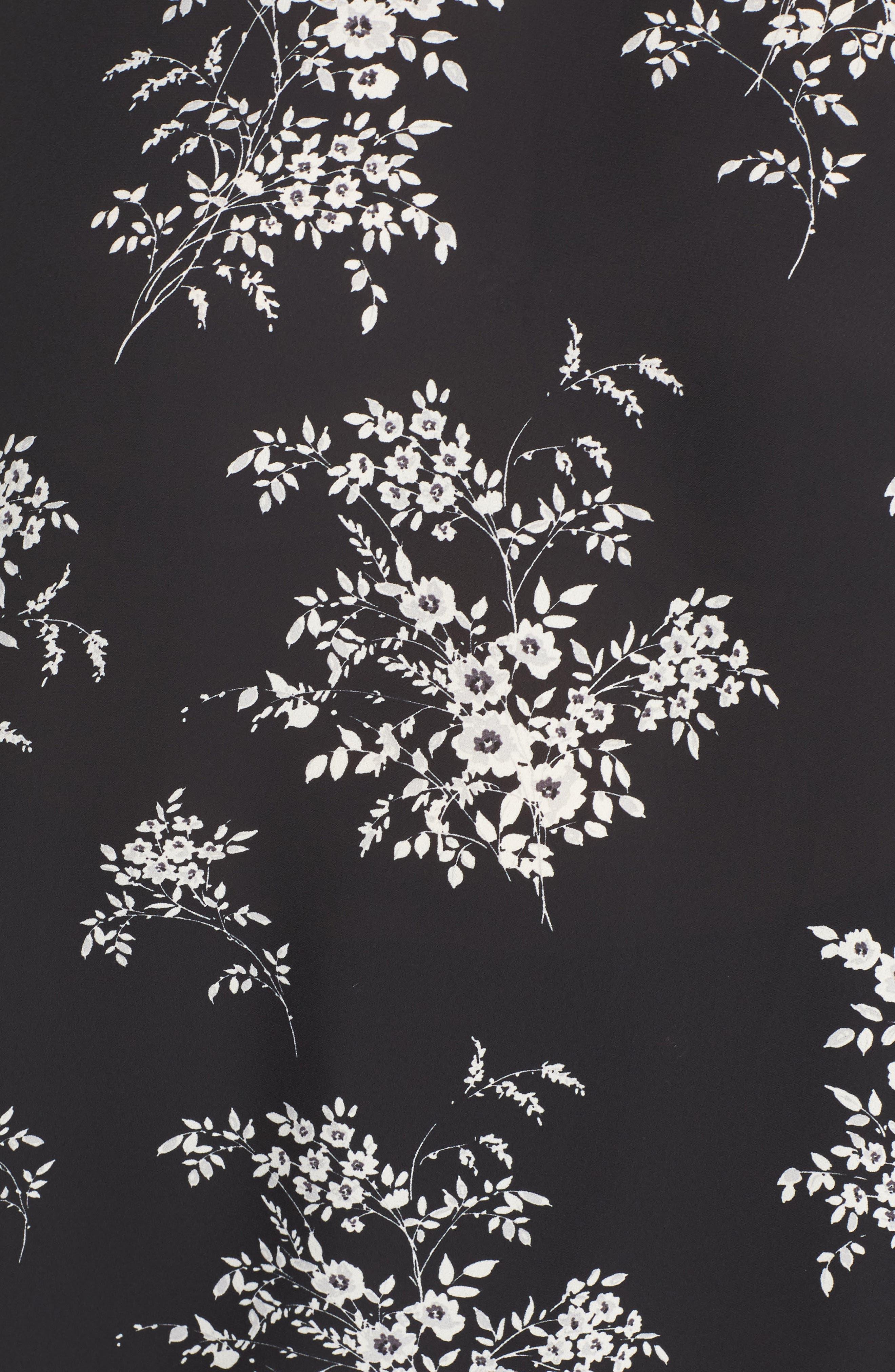 Delicate Bouquet Blouse,                             Alternate thumbnail 5, color,                             010
