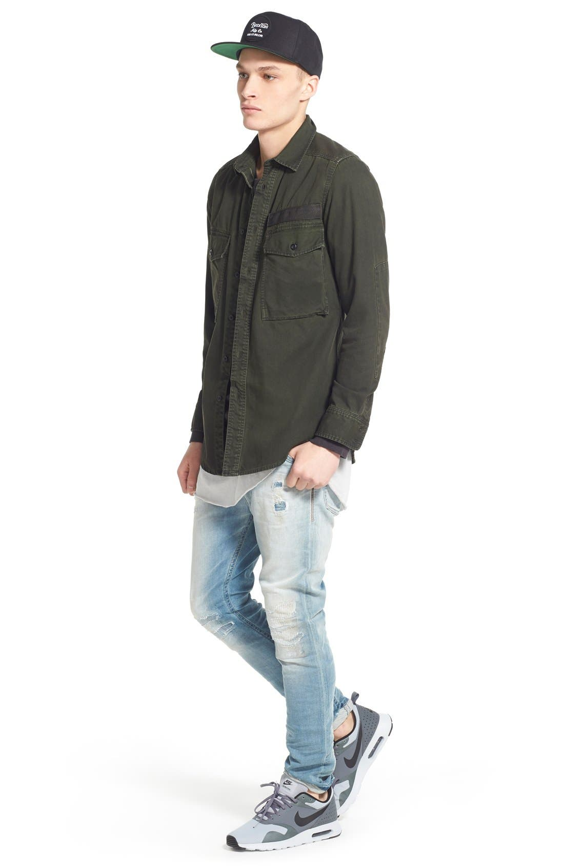 'Spender' Skinny Fit Jeans,                             Alternate thumbnail 5, color,                             400