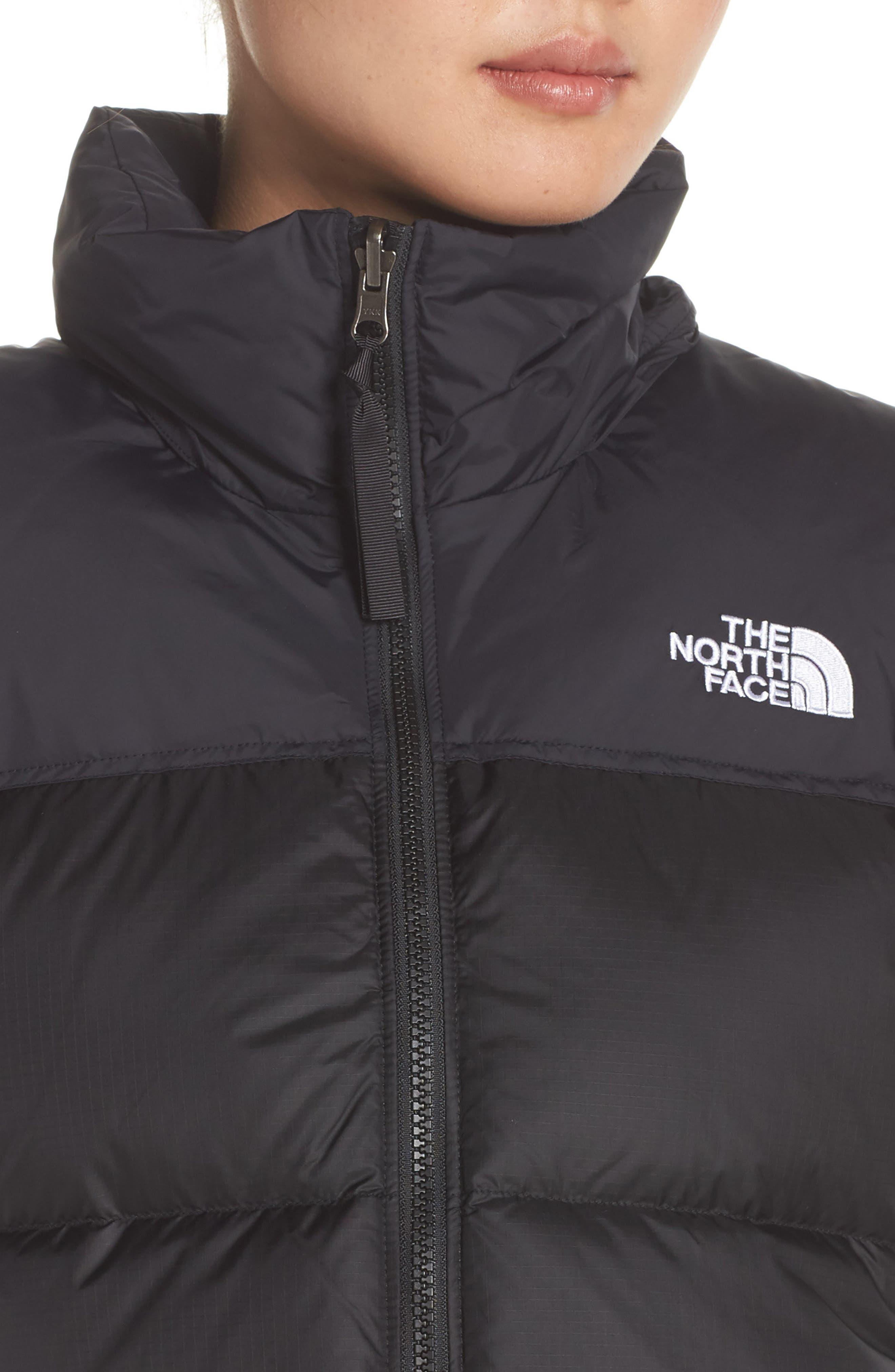 Nuptse 1996 Packable 700-Fill Power Down Vest,                             Alternate thumbnail 4, color,                             TNF BLACK