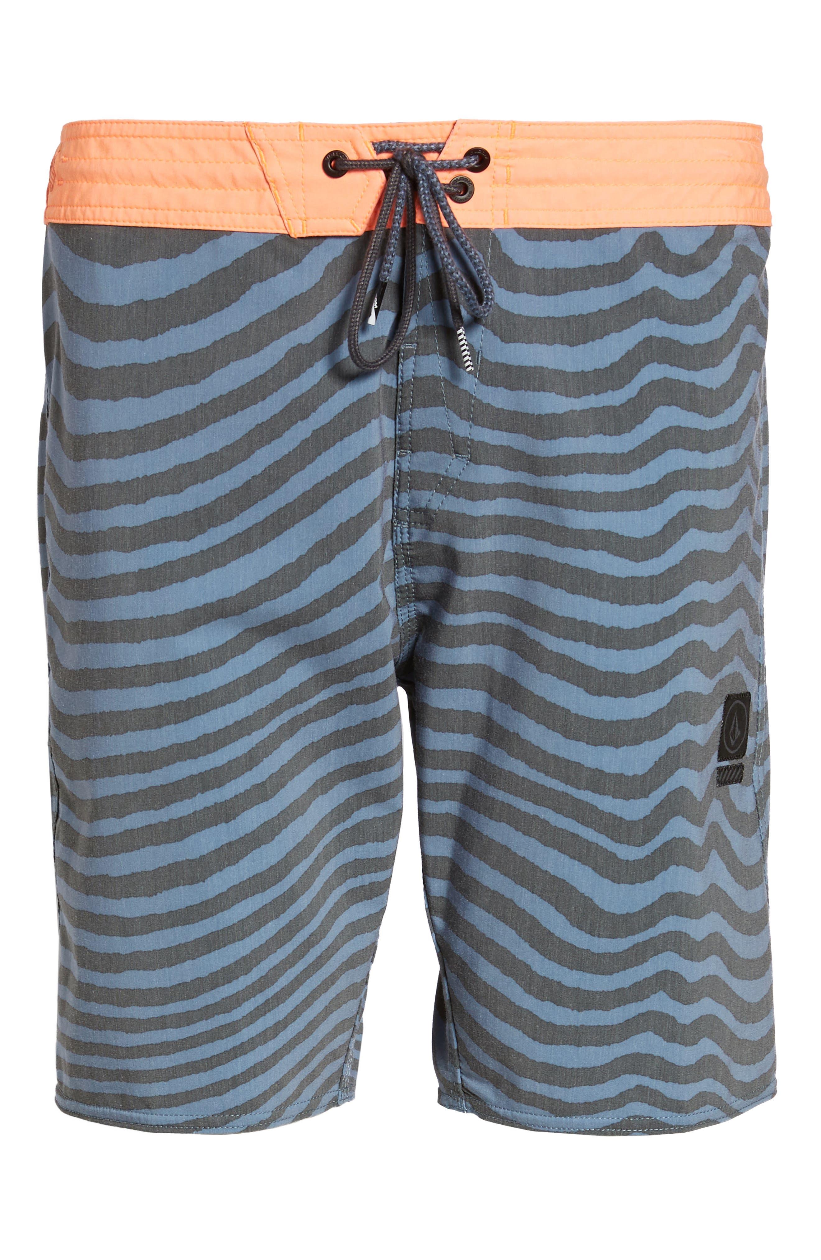 Stripey Slinger Board Shorts,                             Alternate thumbnail 41, color,