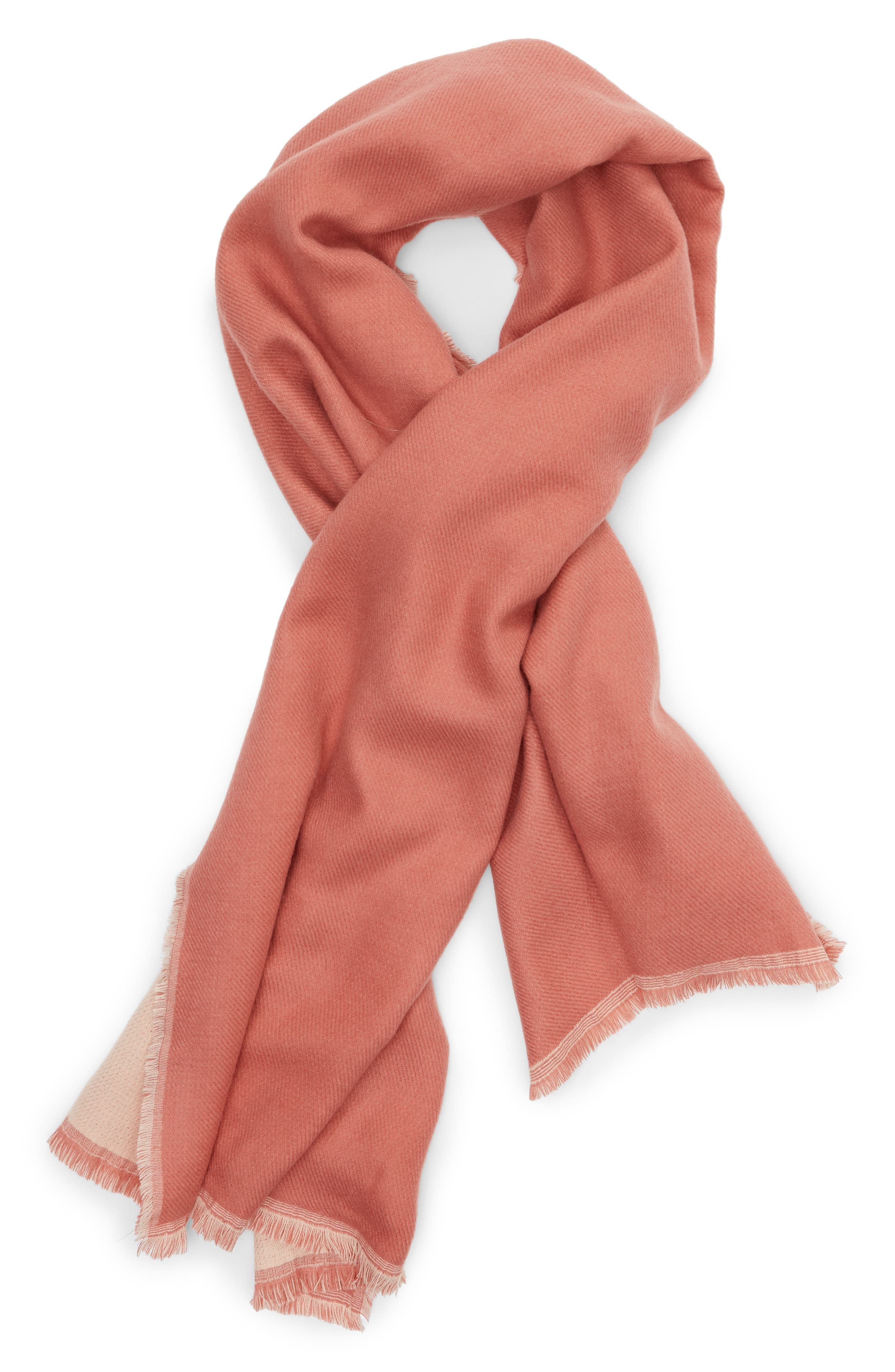 x Atlantic-Pacific Double Sided Blanket Wrap,                             Alternate thumbnail 2, color,                             PINK COMBO