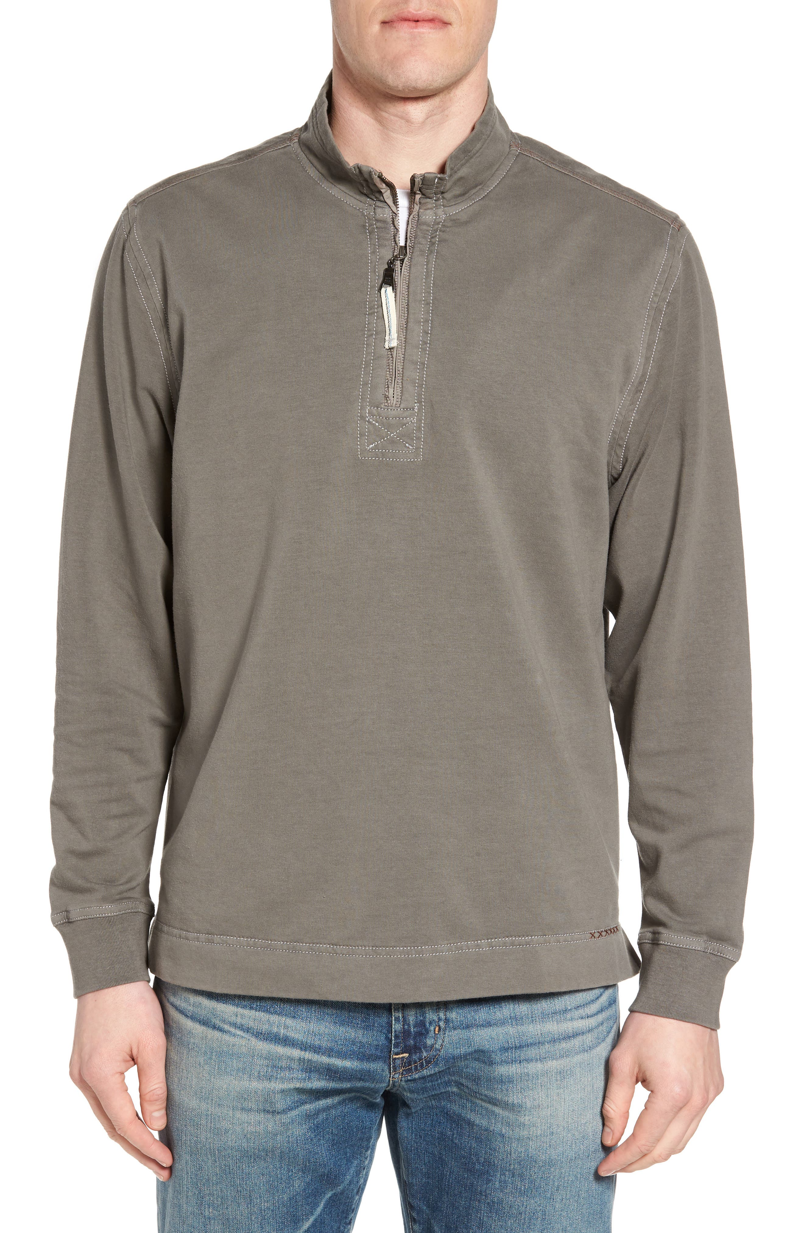 Quarter Zip Fleece Pullover,                             Main thumbnail 1, color,                             020