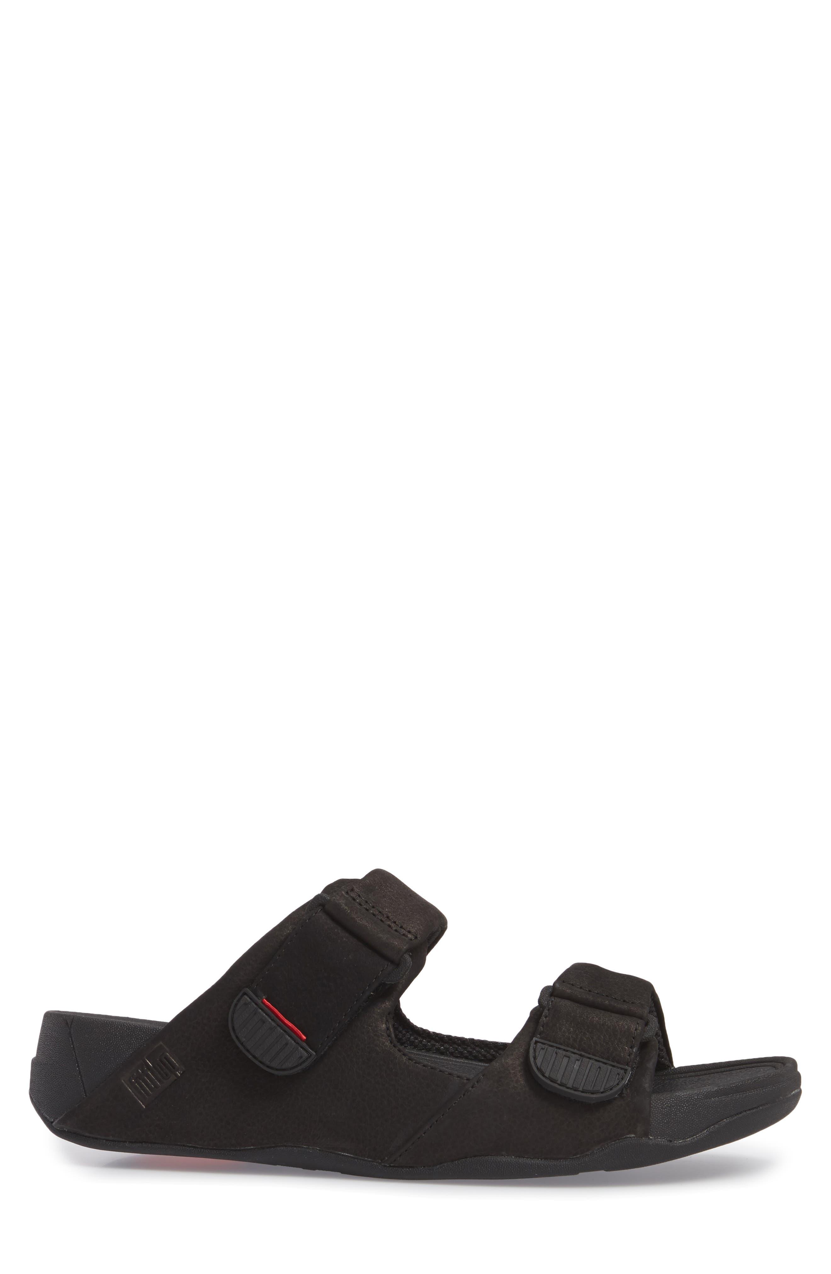Gogh Sport Slide Sandal,                             Alternate thumbnail 3, color,                             BLACK