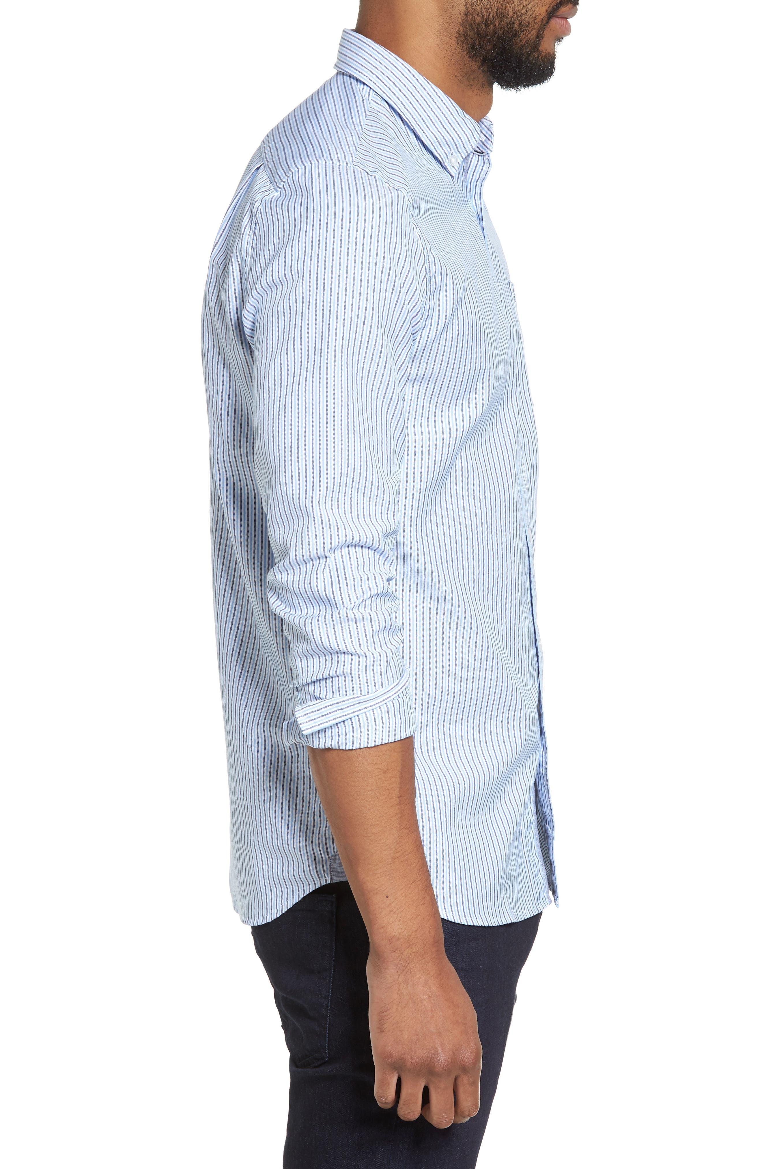 Button-Down Sport Shirt,                             Alternate thumbnail 3, color,                             435