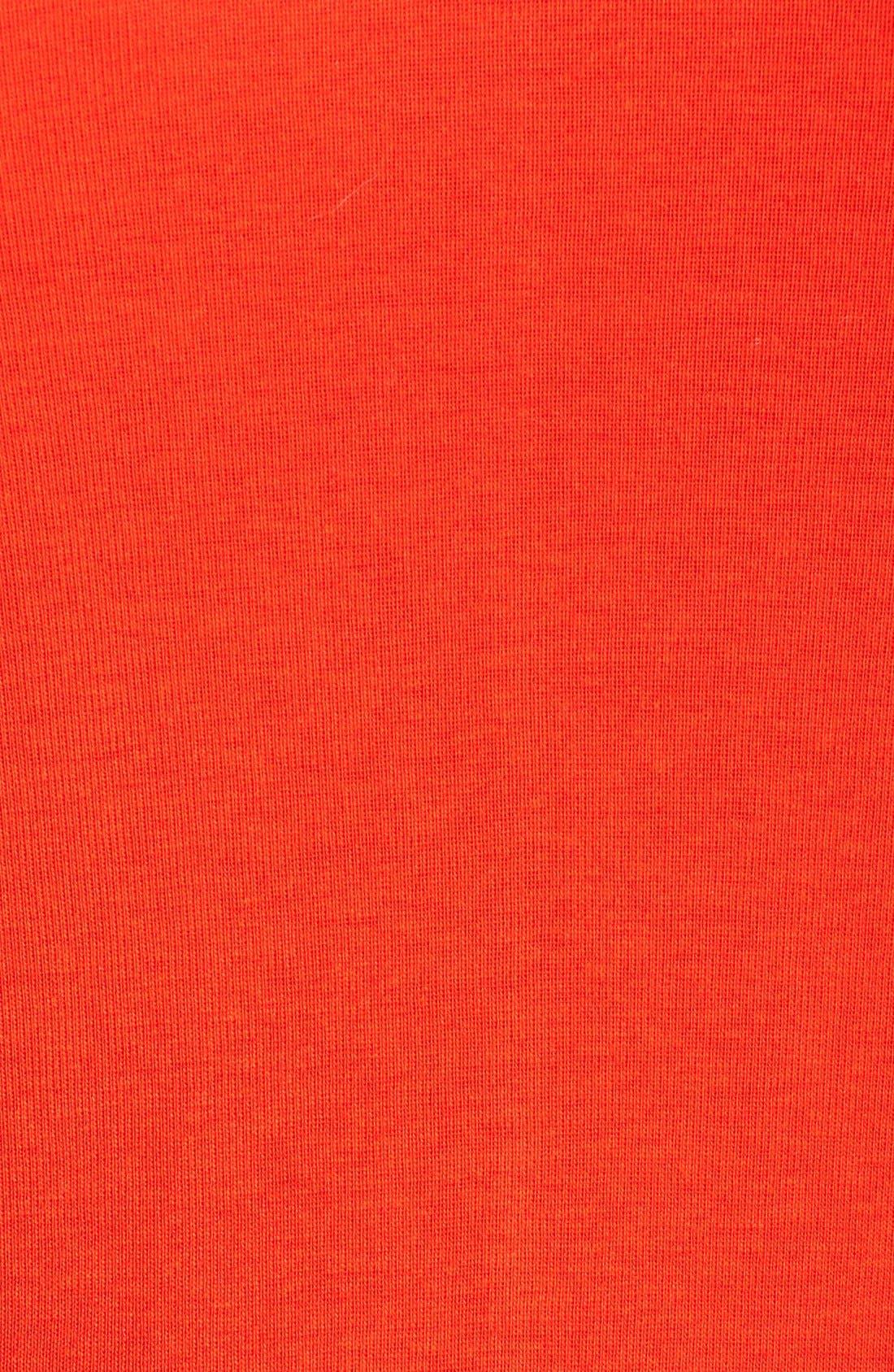 Short Sleeve V-Neck Tee,                             Alternate thumbnail 164, color,
