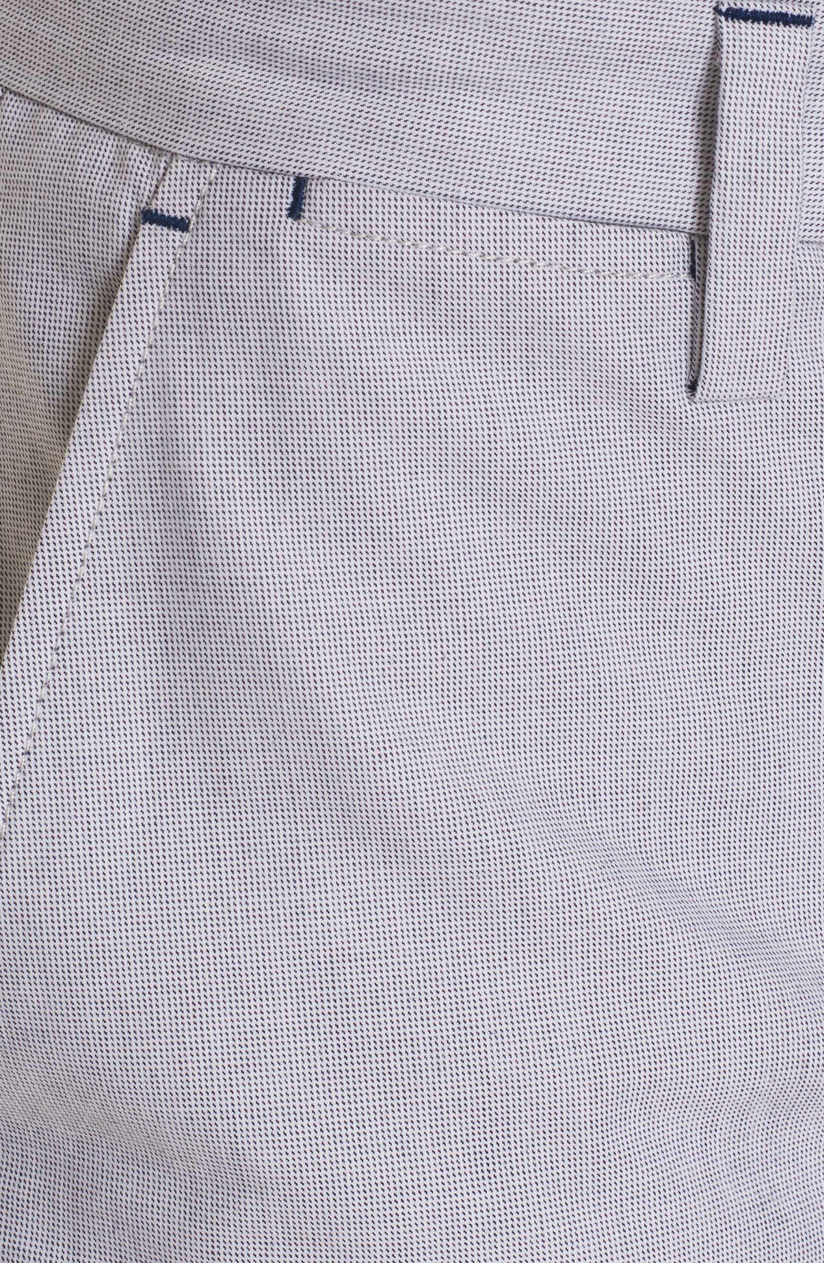 Gerardo Tailored Fit Pants,                             Alternate thumbnail 4, color,                             100