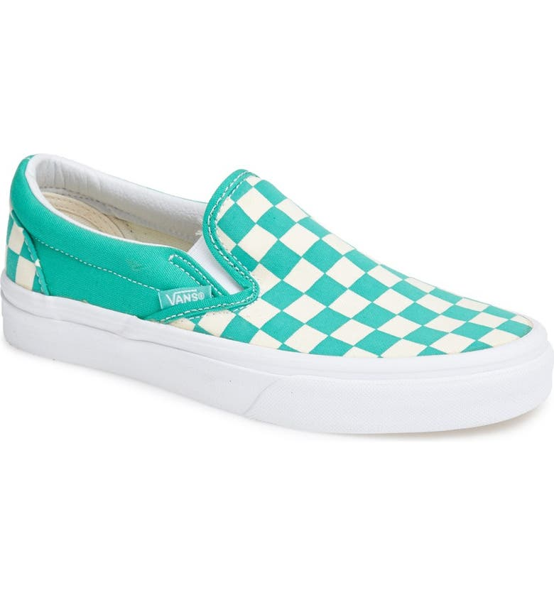 33d65898509 Vans  Classic - Checkerboard  Slip-On (Women)