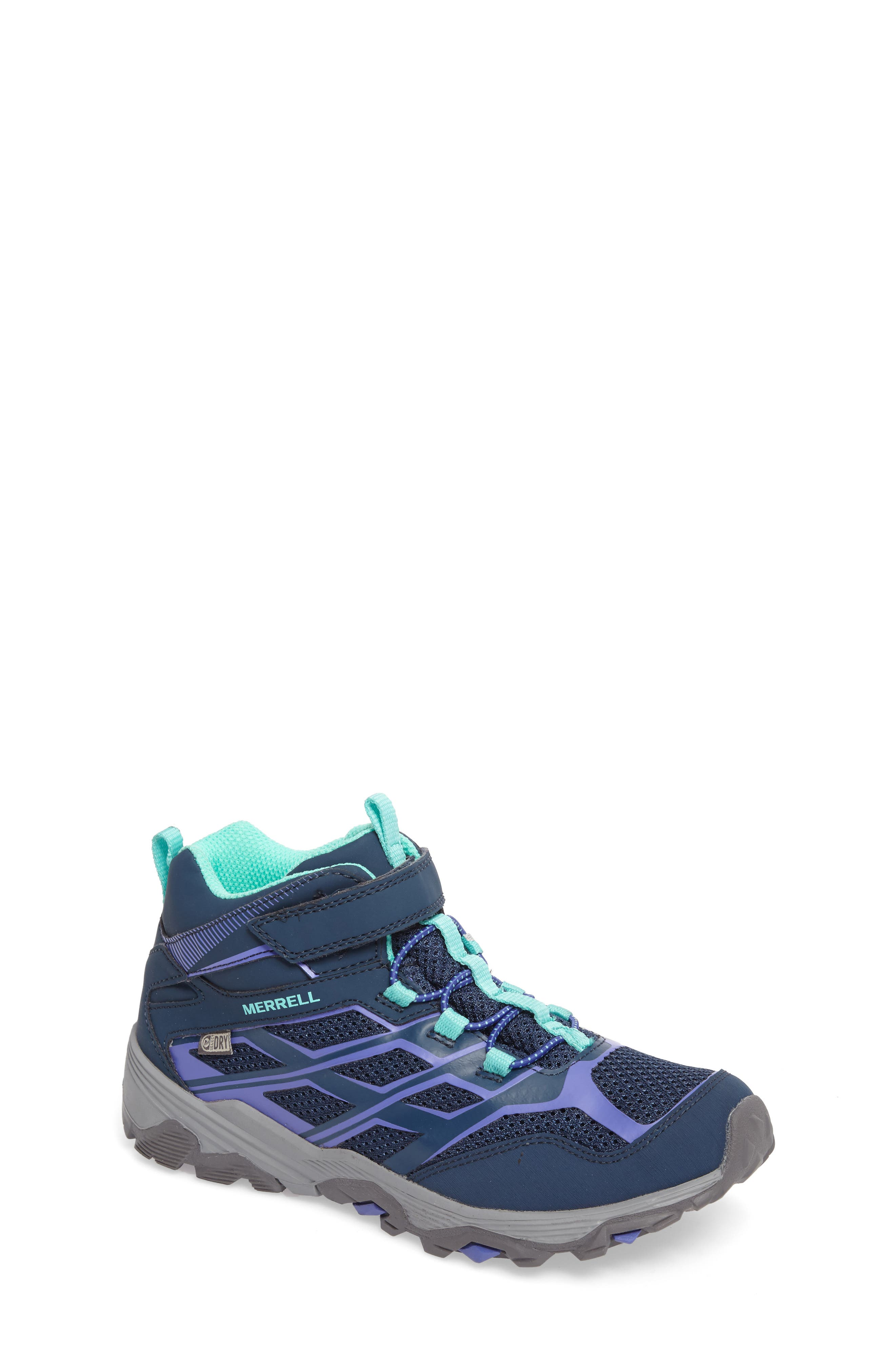 Moab FST Polar Mid Insulated Waterproof Sneaker Boot,                             Main thumbnail 1, color,                             410