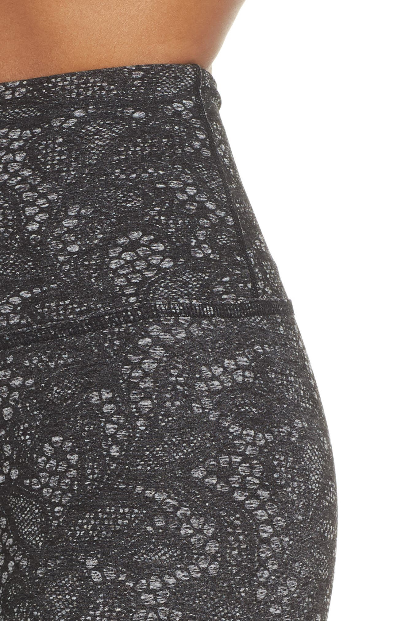 So Lacy Space Dye High Waist Leggings,                             Alternate thumbnail 4, color,                             020