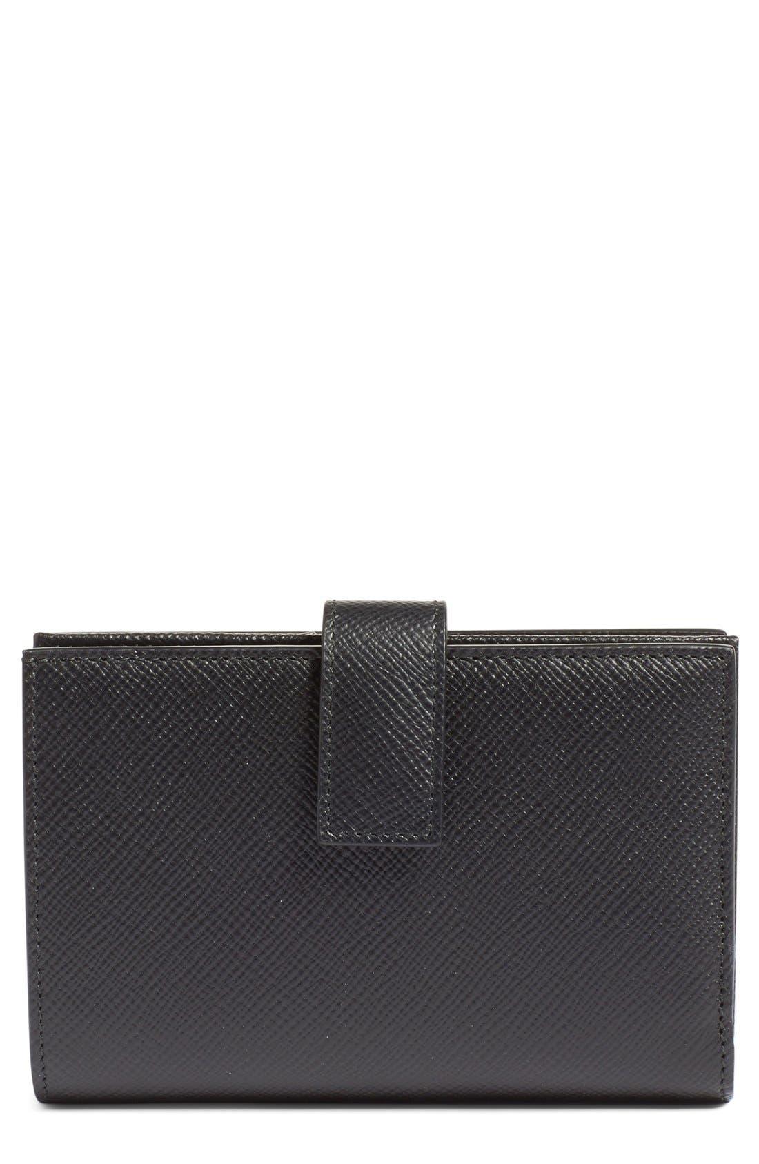 'Medium' Continental Wallet,                         Main,                         color, 001