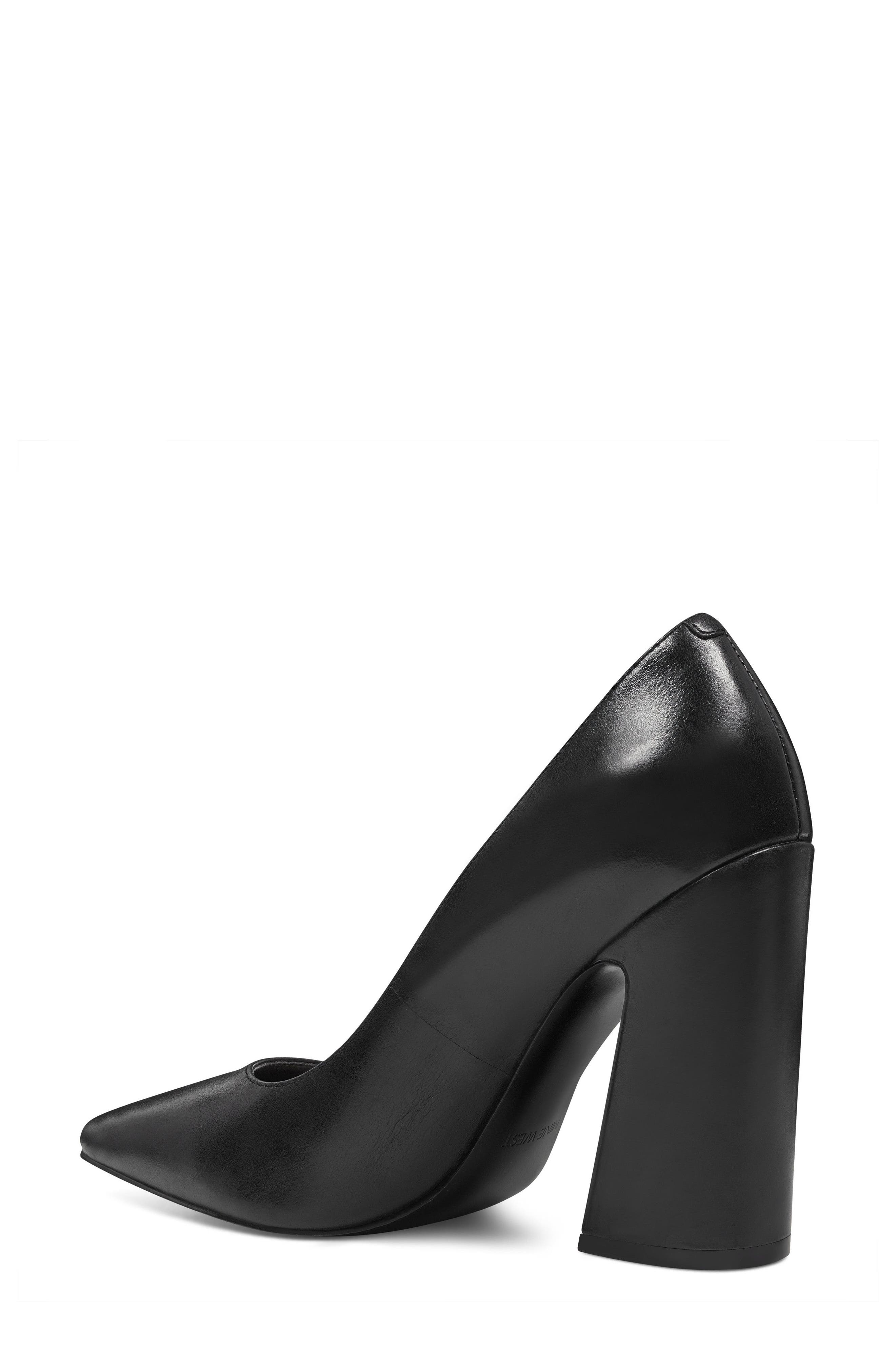 NINE WEST,                             Henra Pointy Toe Pump,                             Alternate thumbnail 2, color,                             001