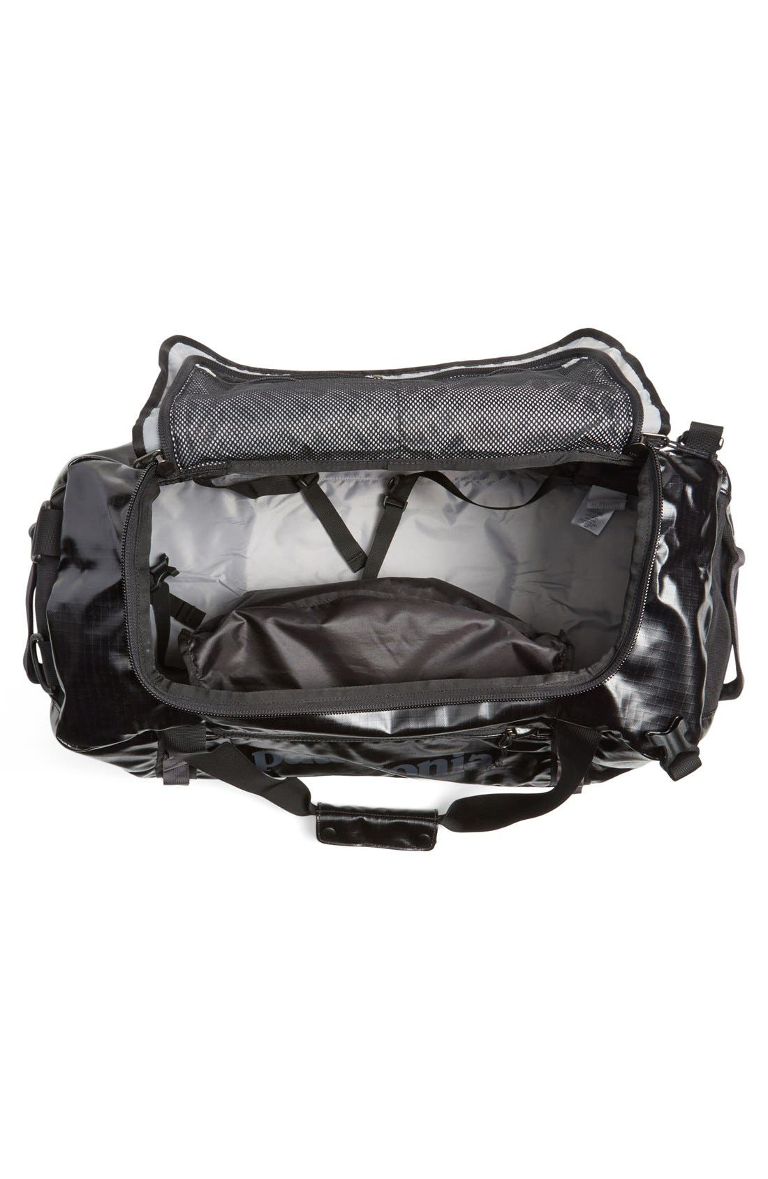 PATAGONIA,                             'Black Hole<sup>™</sup>' Duffel Bag,                             Alternate thumbnail 3, color,                             001