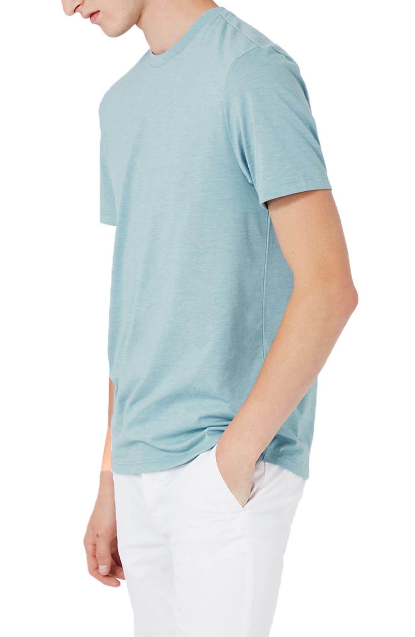 Slim Fit Crewneck T-Shirt,                             Alternate thumbnail 204, color,