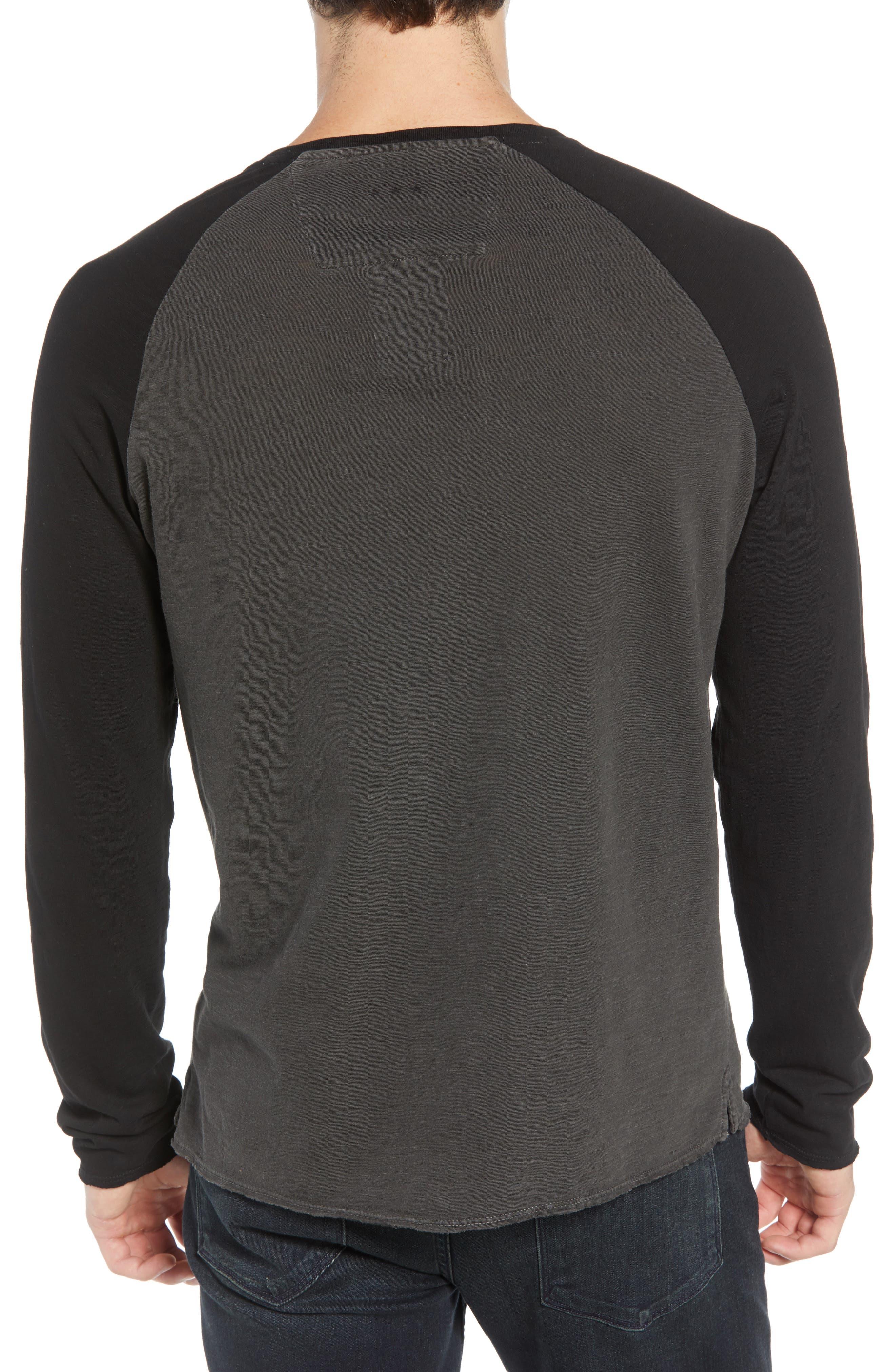 Motor City Long Sleeve T-Shirt,                             Alternate thumbnail 2, color,                             COAL