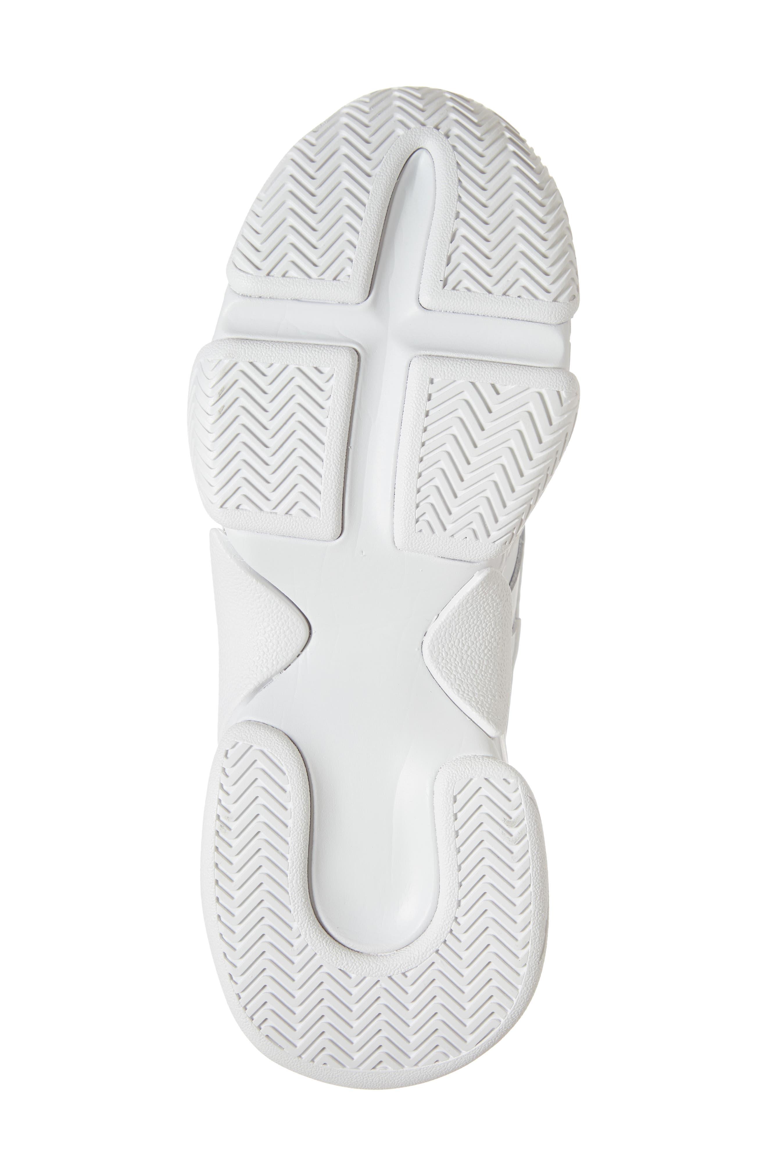 Malware Wedge Sneaker,                             Alternate thumbnail 6, color,                             WHITE