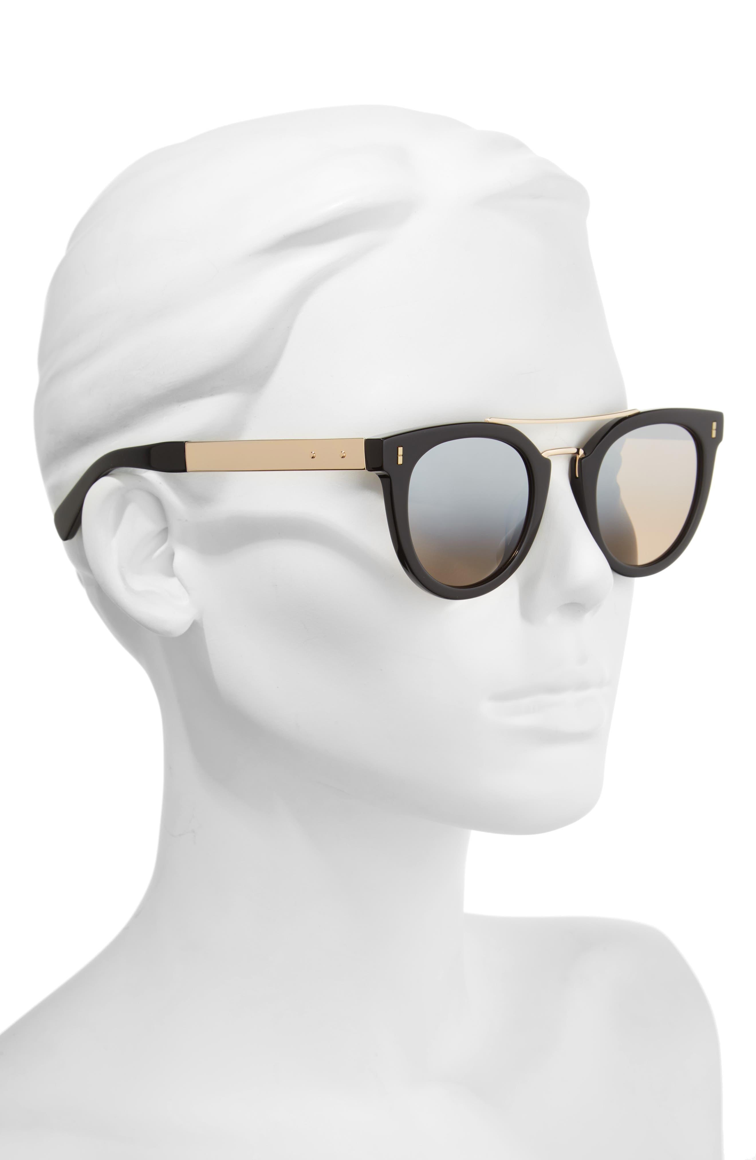 The Woodson 48mm Gradient Sunglasses,                             Alternate thumbnail 2, color,                             001