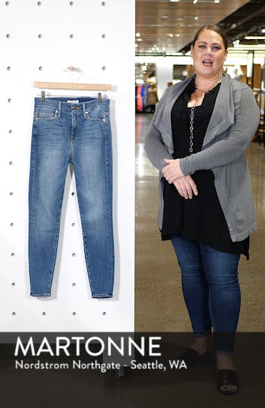 Good Legs High Waist Skinny Jeans (Blue 107), sales video thumbnail