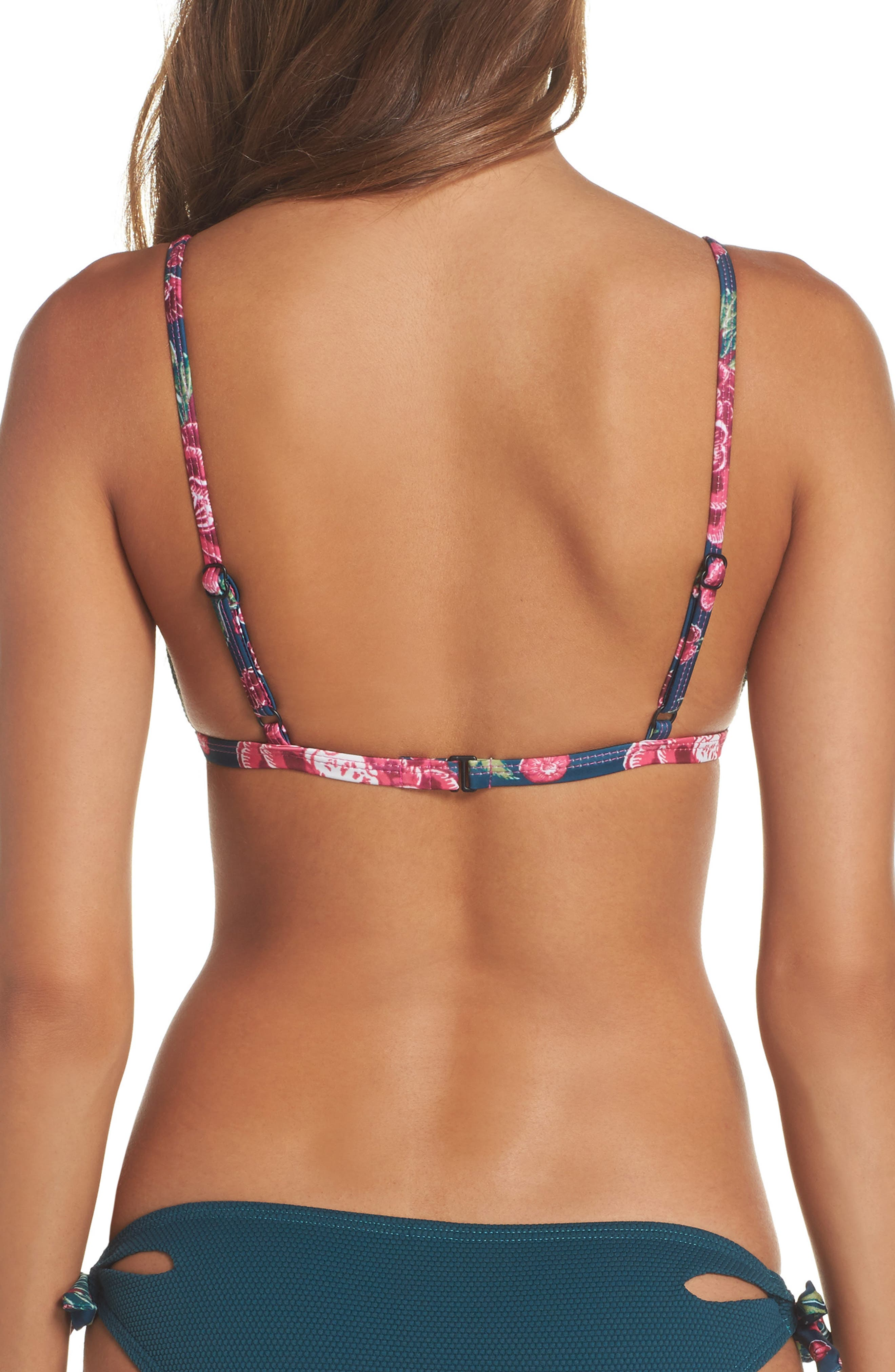 Triangle Bikini Top,                             Alternate thumbnail 4, color,