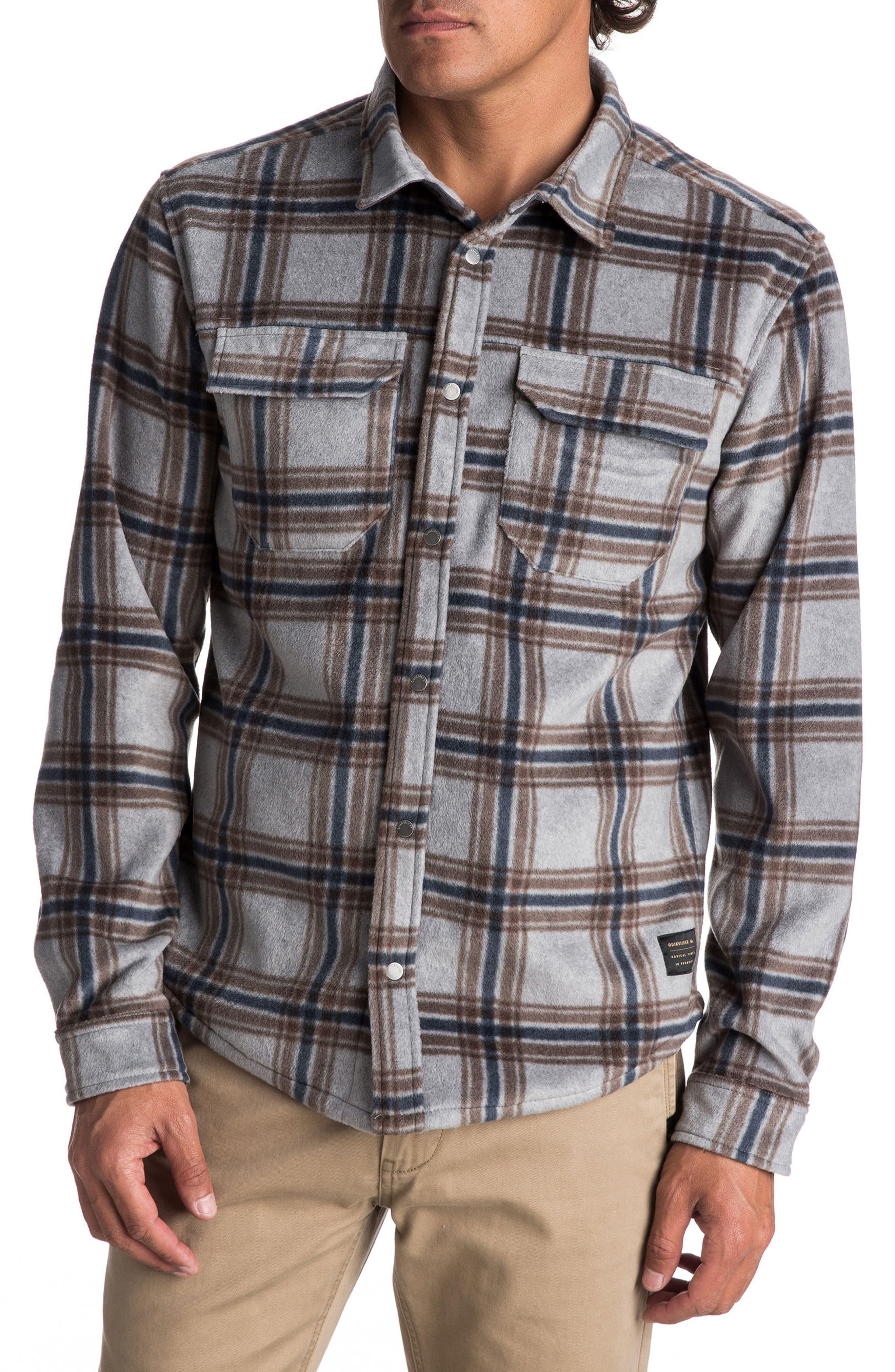 Surf Day Polar Fleece Shirt,                         Main,                         color, 020