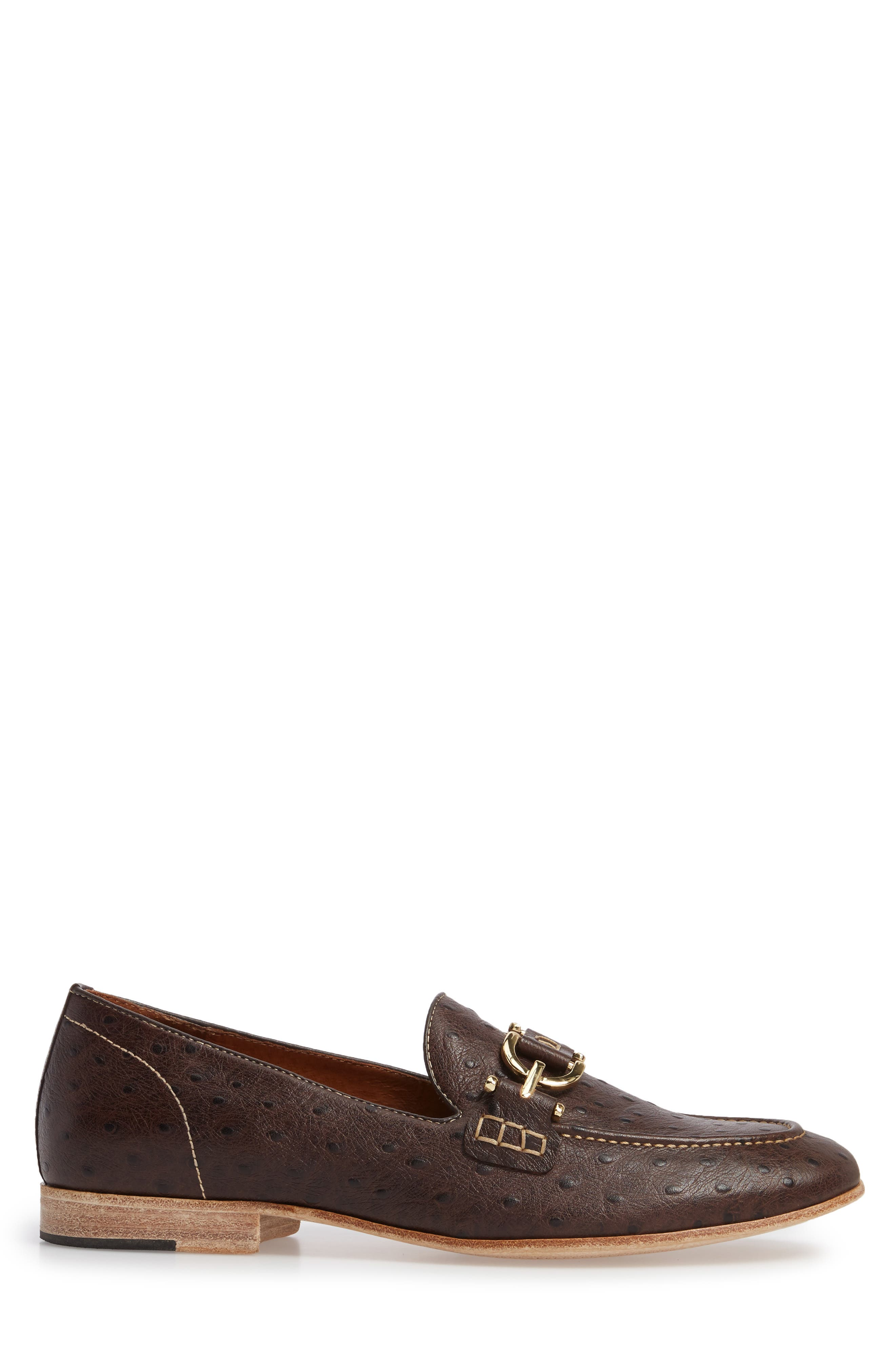 Moritz Apron Toe Bit Loafer,                             Alternate thumbnail 3, color,                             200
