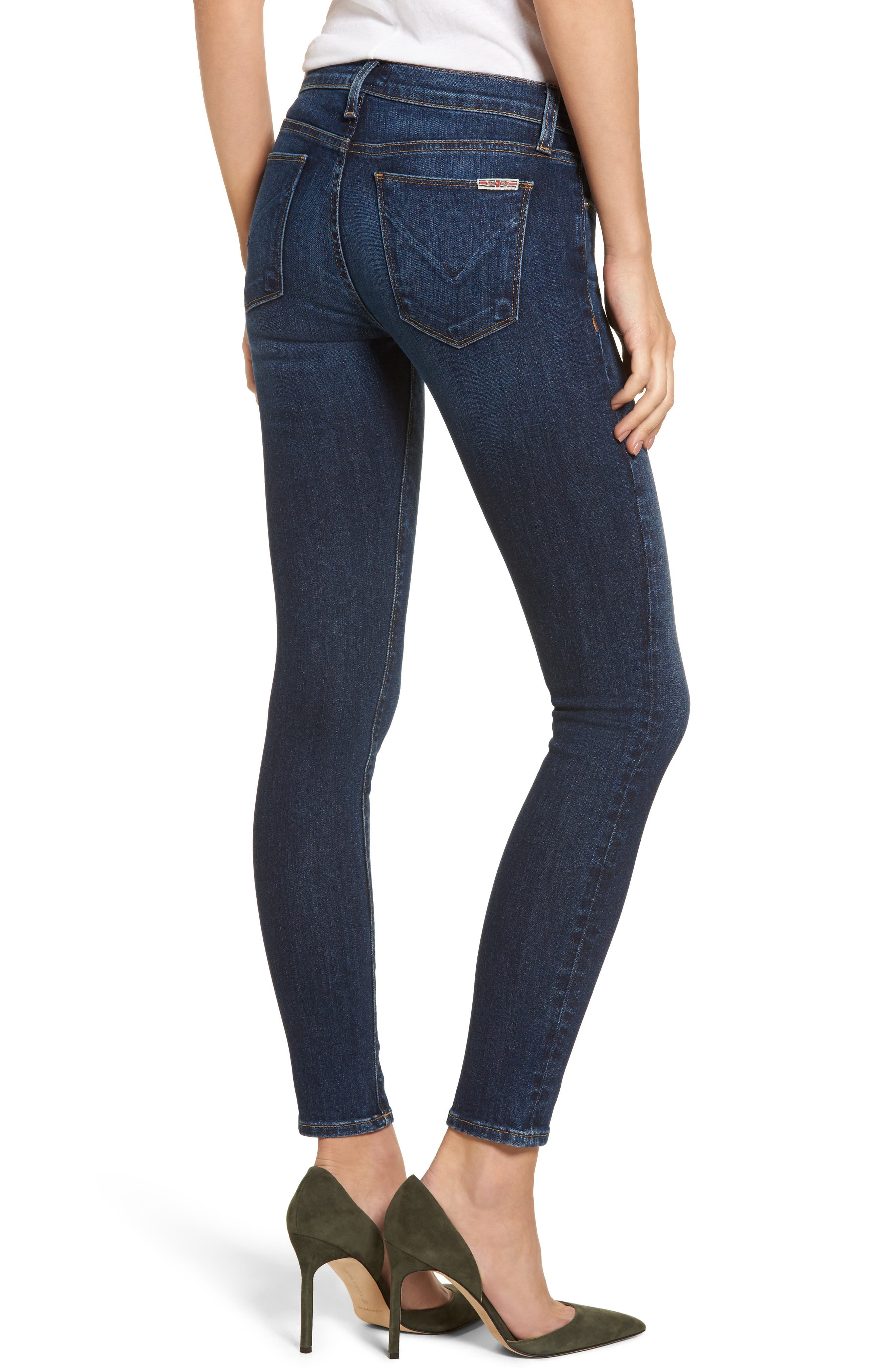 'Krista' Super Skinny Jeans,                             Alternate thumbnail 2, color,                             SOLO