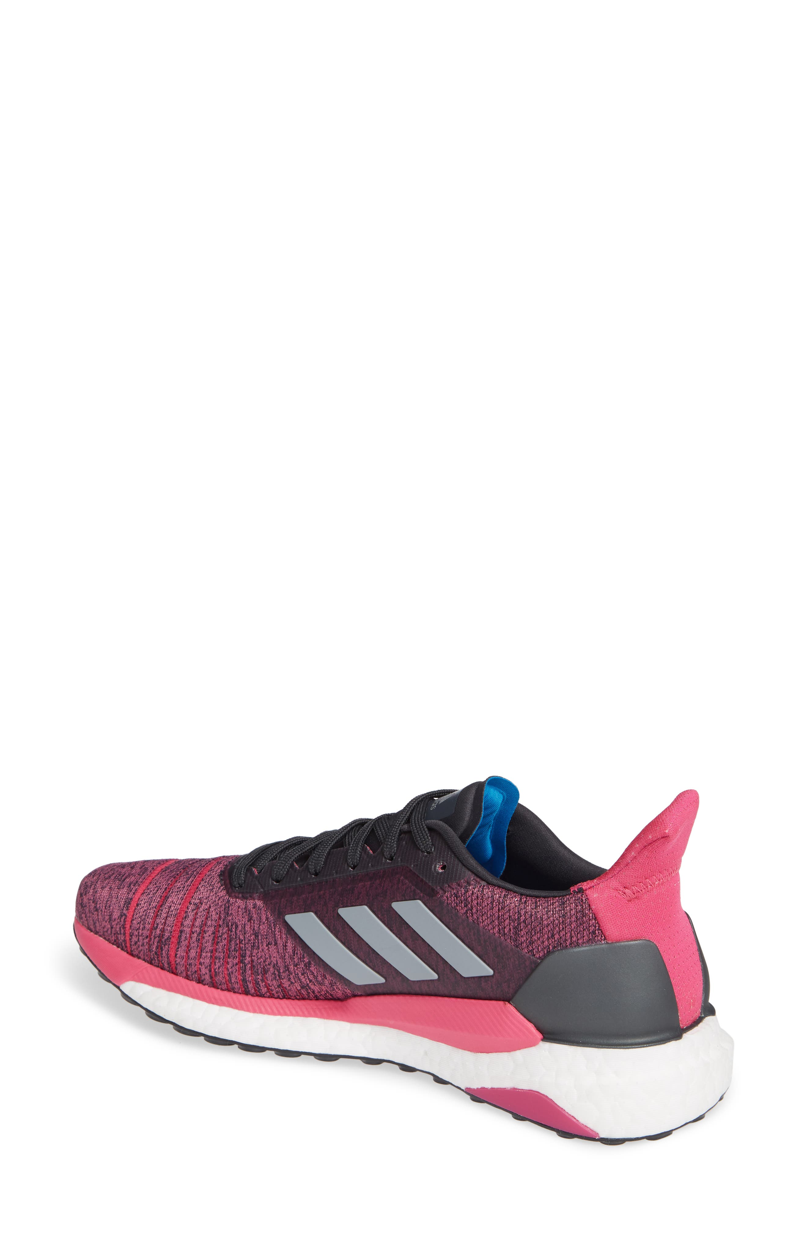 Solar Glide Running Shoe,                             Alternate thumbnail 2, color,                             CARBON/ GREY THREE/ MAGENTA