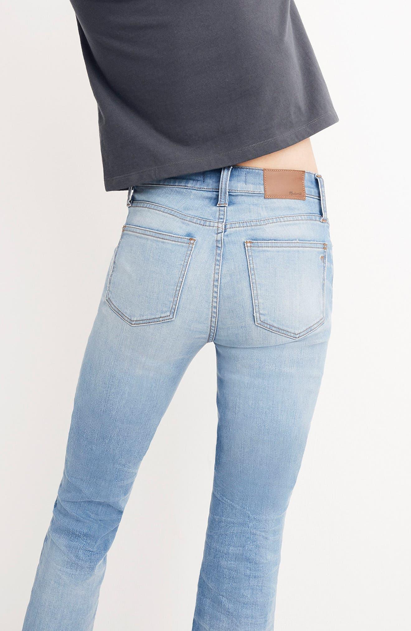 Cali Demi Boot Jeans,                             Alternate thumbnail 6, color,                             400