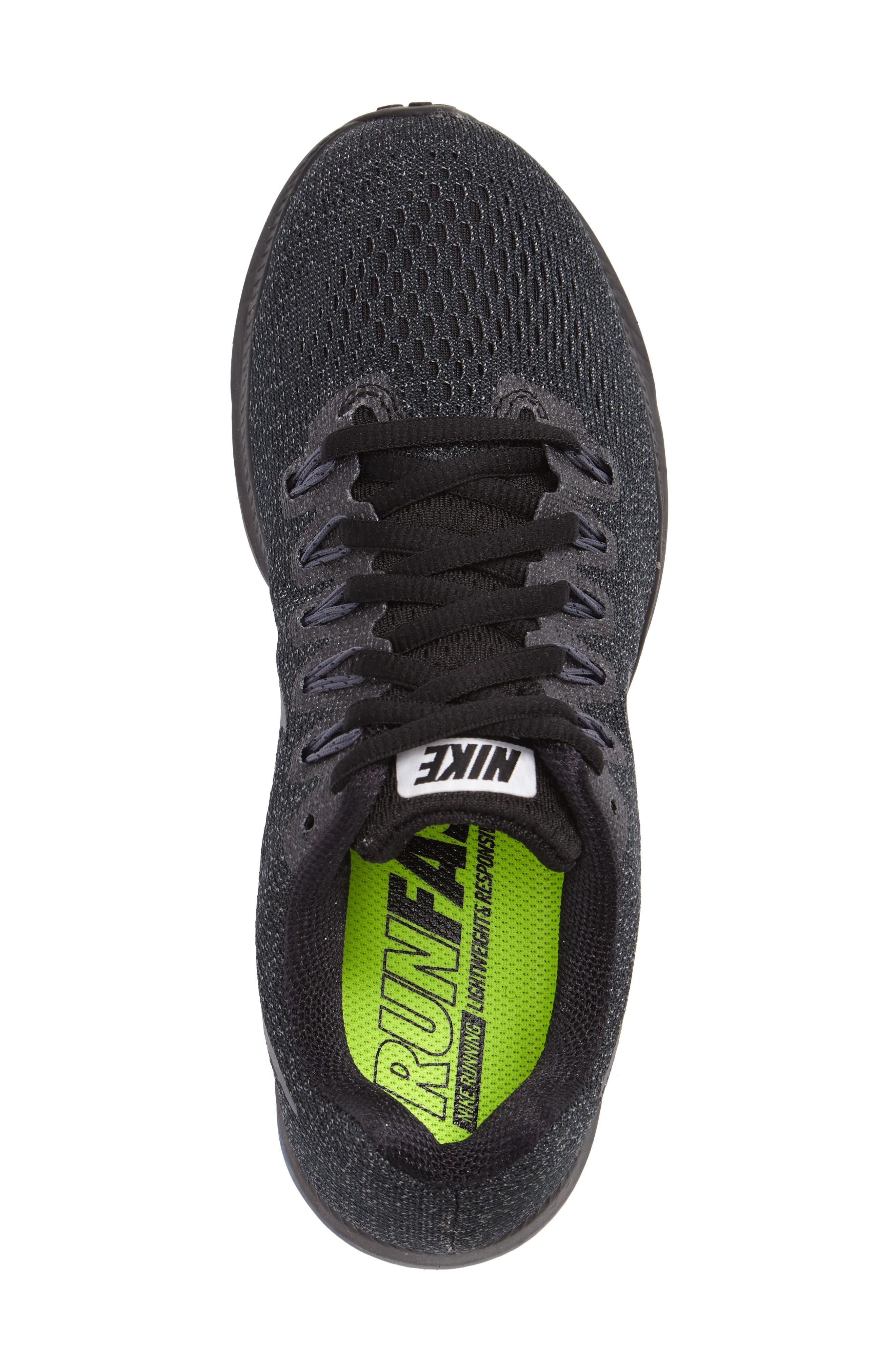 Air Zoom All Out Running Shoe,                             Alternate thumbnail 3, color,                             001