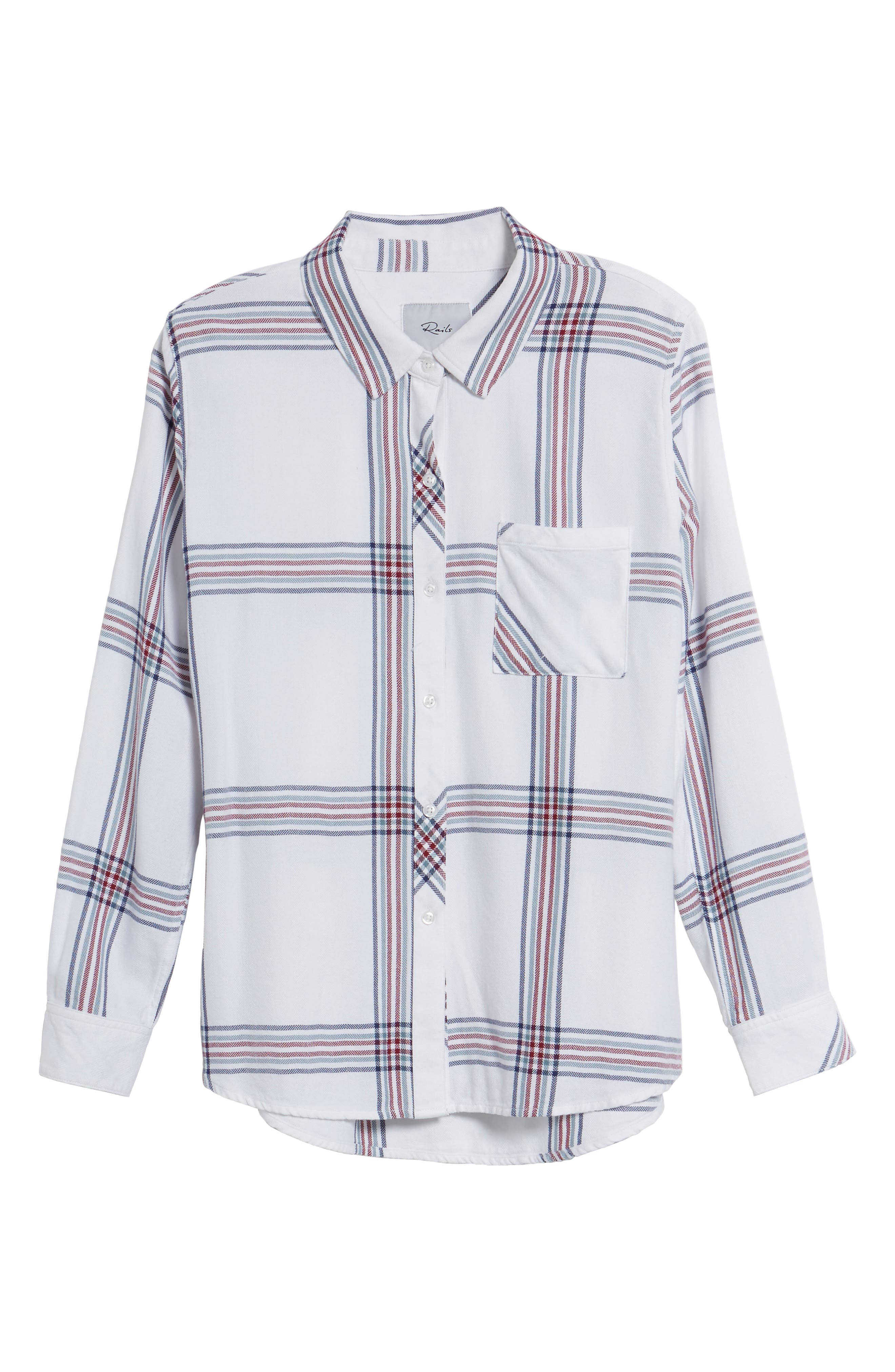 Hunter Plaid Shirt,                             Alternate thumbnail 697, color,